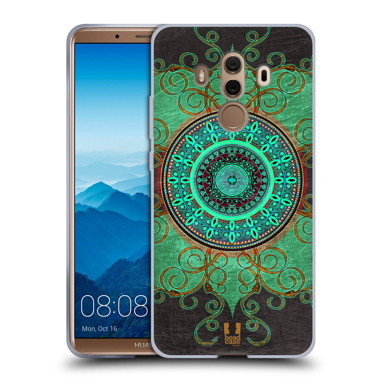 Silikonové pouzdro na mobil Huawei Mate 10 Pro - Head Case - ARAB MANDALA