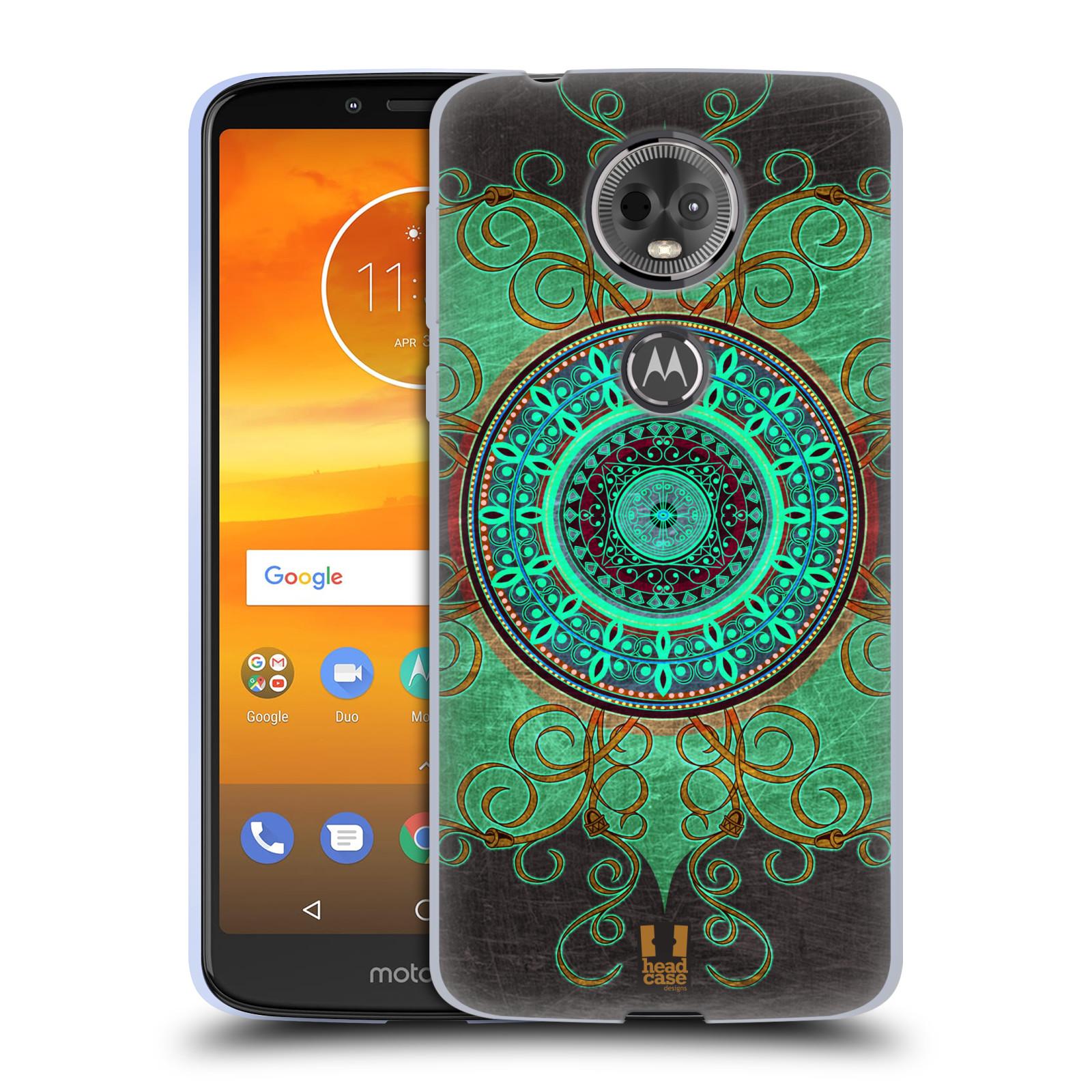 Silikonové pouzdro na mobil Motorola Moto E5 Plus - Head Case - ARAB MANDALA