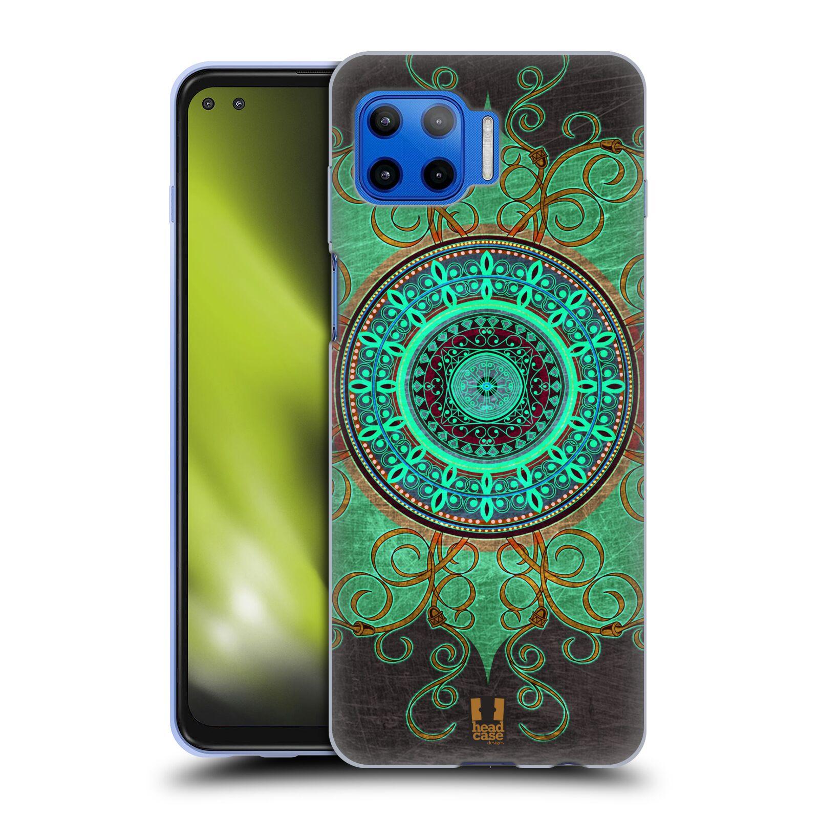 Silikonové pouzdro na mobil Motorola Moto G 5G Plus - Head Case - ARAB MANDALA