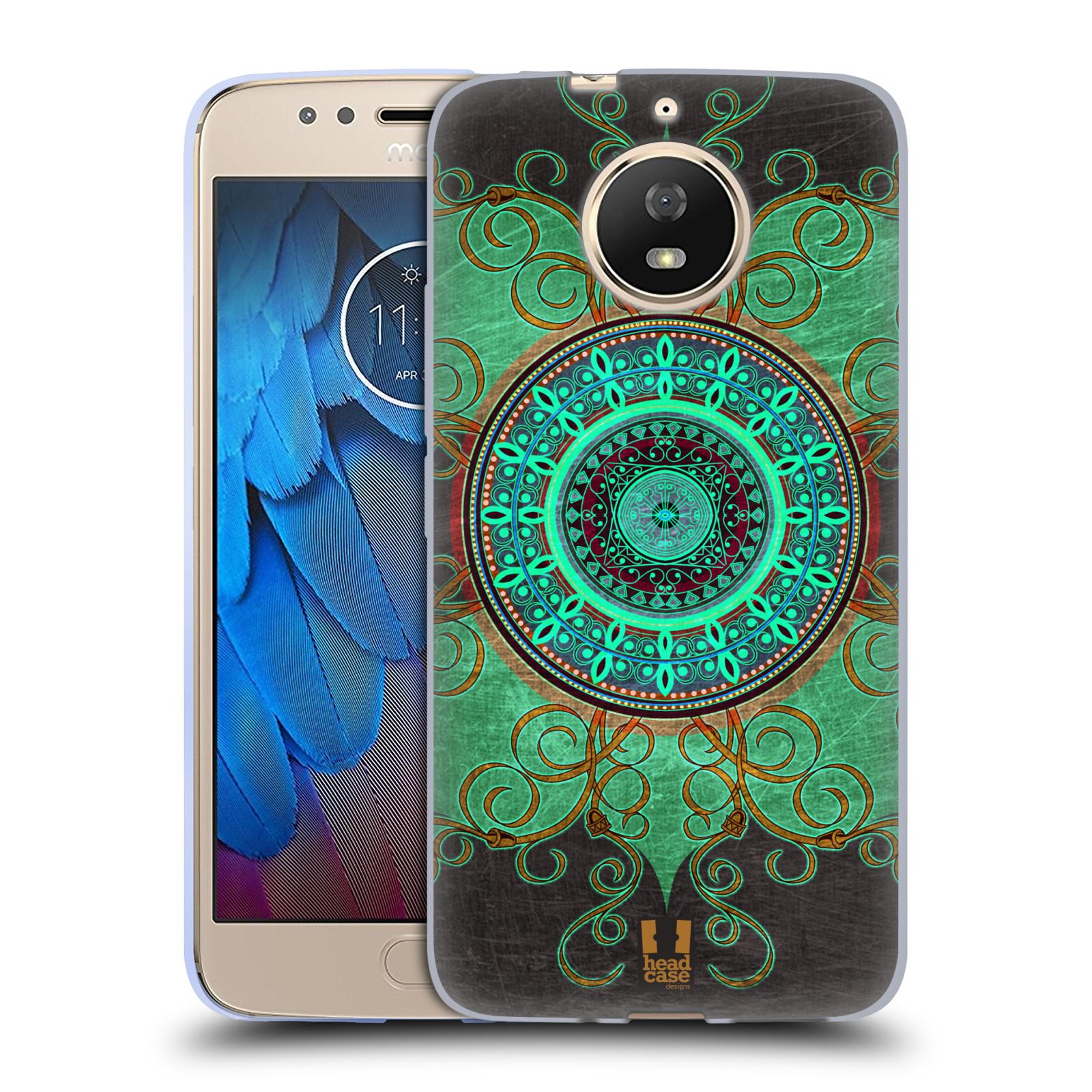 Silikonové pouzdro na mobil Lenovo Moto G5s - Head Case - ARAB MANDALA