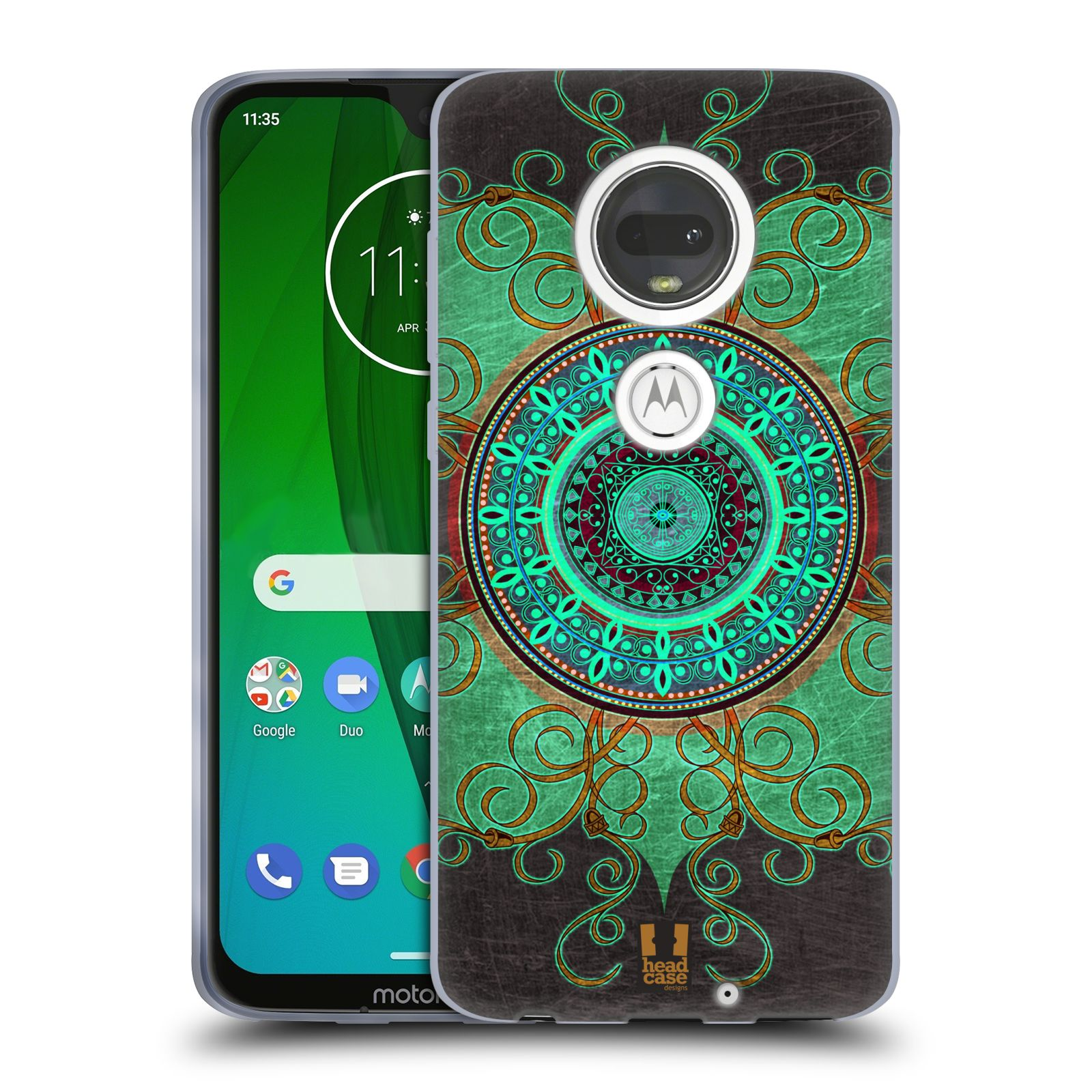 Silikonové pouzdro na mobil Motorola Moto G7 - Head Case - ARAB MANDALA