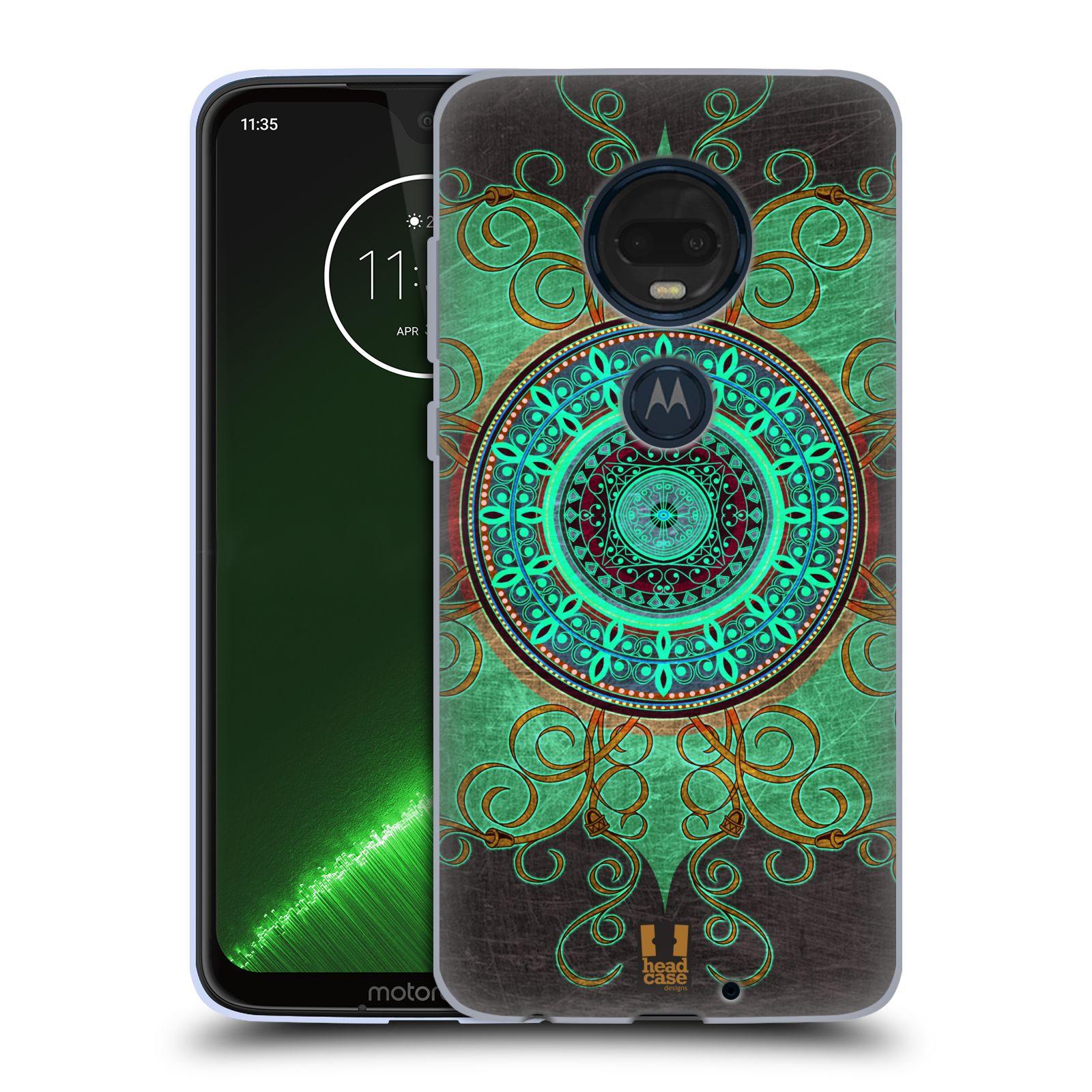 Silikonové pouzdro na mobil Motorola Moto G7 Plus - Head Case - ARAB MANDALA