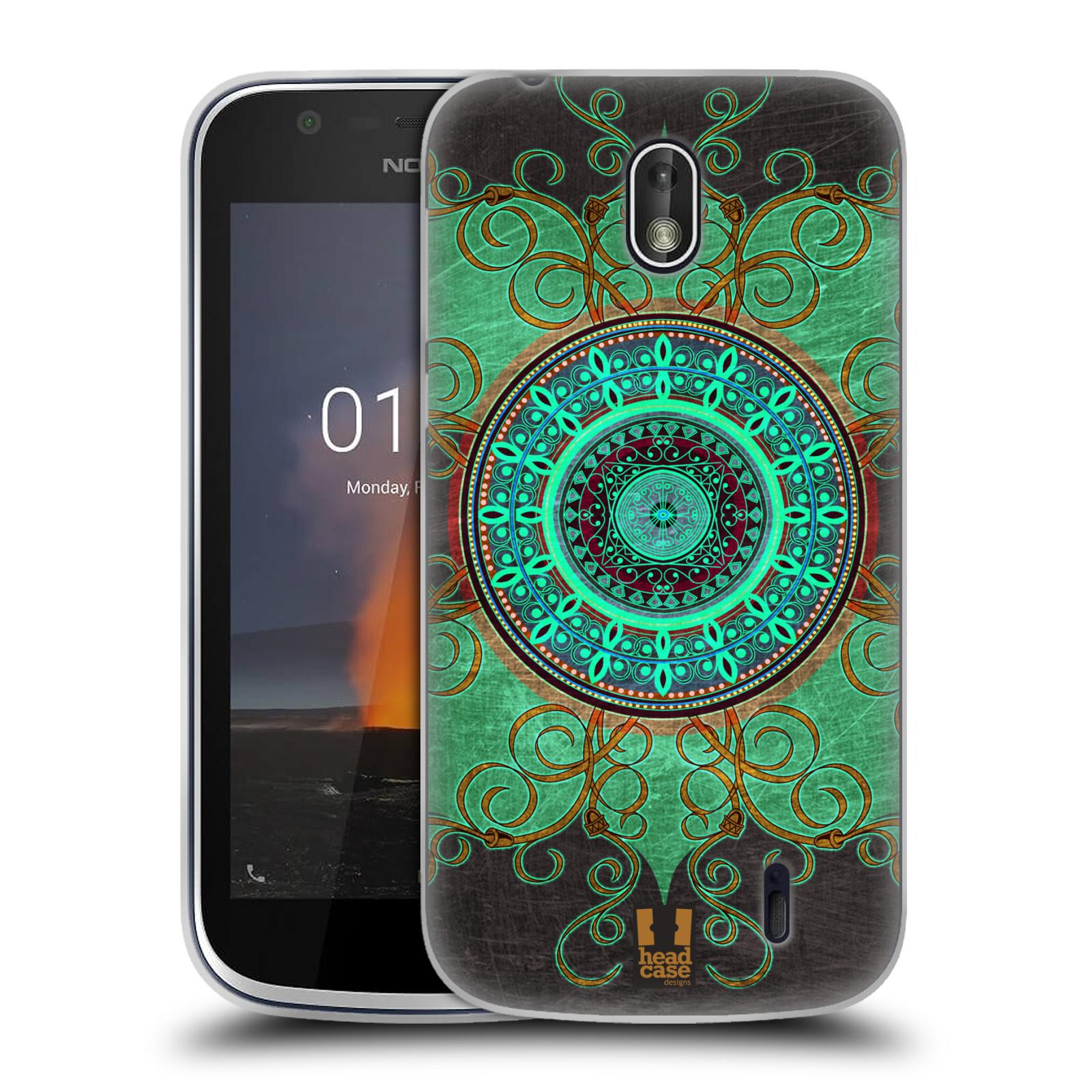 Silikonové pouzdro na mobil Nokia 1 - Head Case - ARAB MANDALA