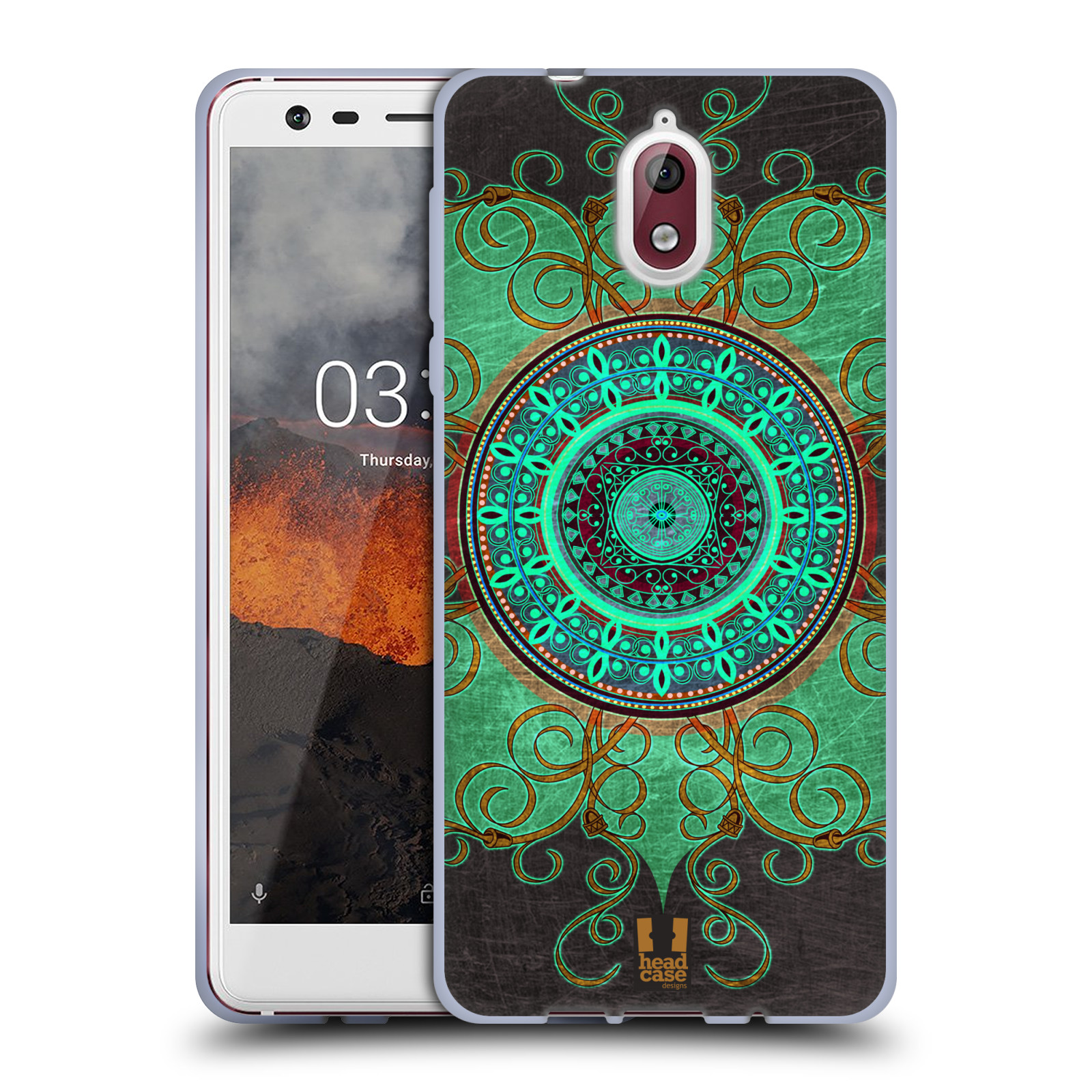 Silikonové pouzdro na mobil Nokia 3.1 - Head Case - ARAB MANDALA