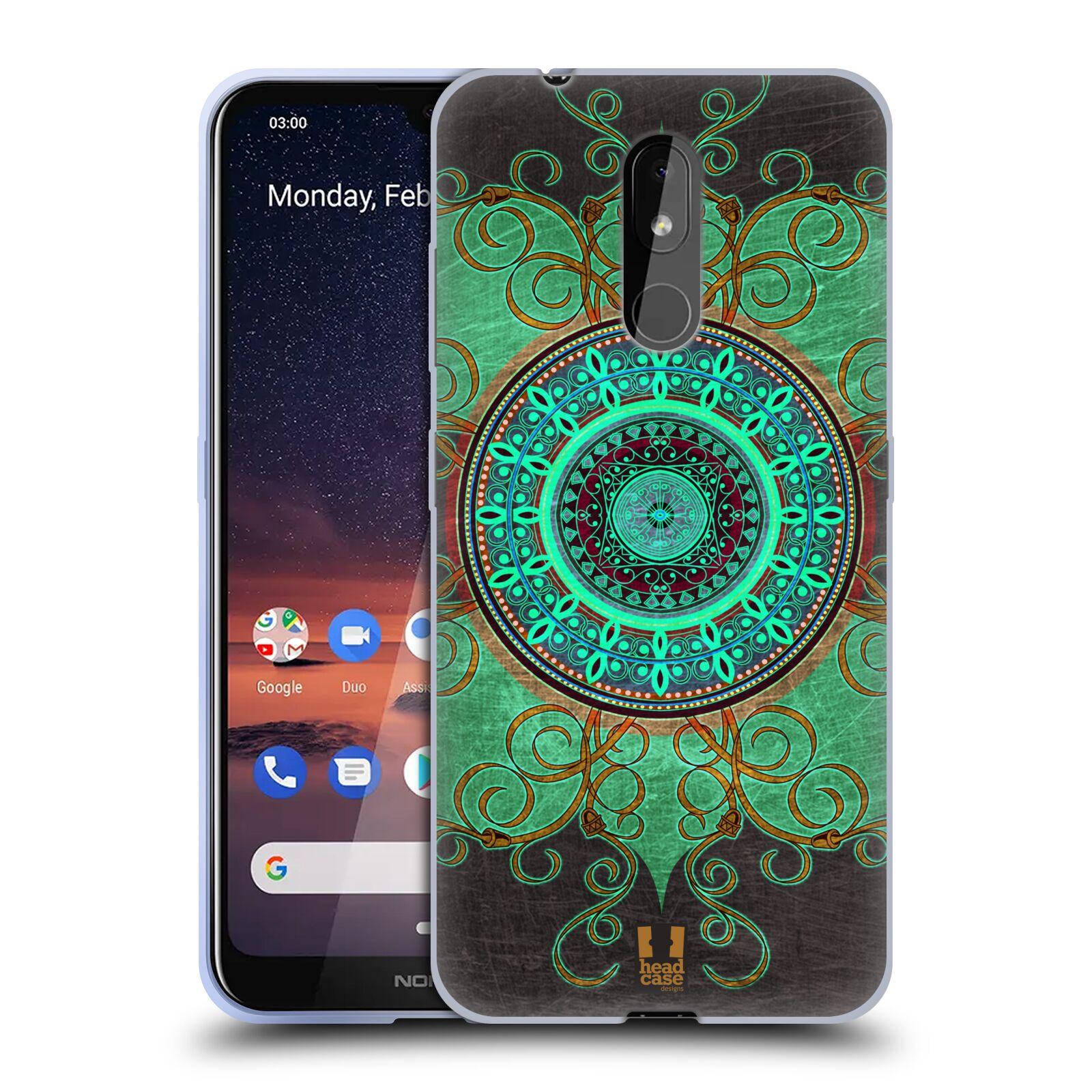 Silikonové pouzdro na mobil Nokia 3.2 - Head Case - ARAB MANDALA