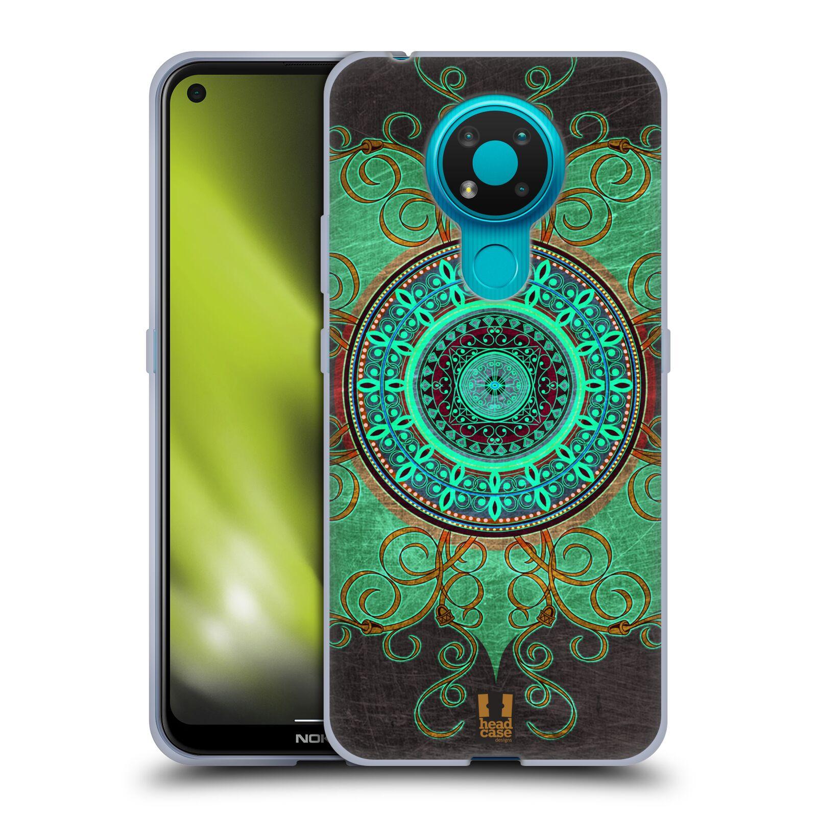 Silikonové pouzdro na mobil Nokia 3.4 - Head Case - ARAB MANDALA