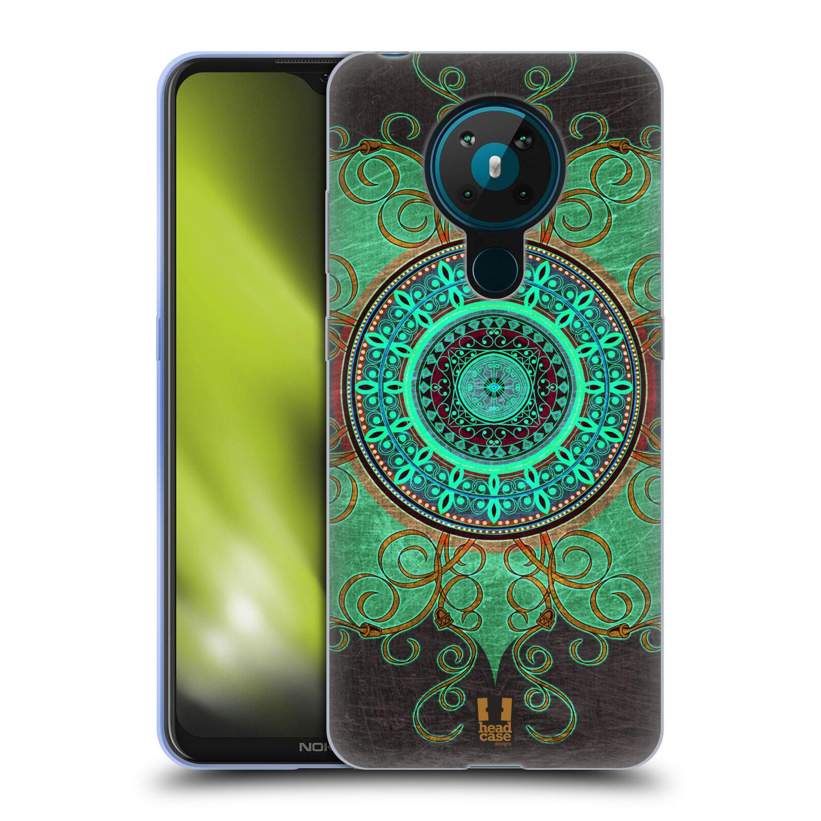 Silikonové pouzdro na mobil Nokia 5.3 - Head Case - ARAB MANDALA