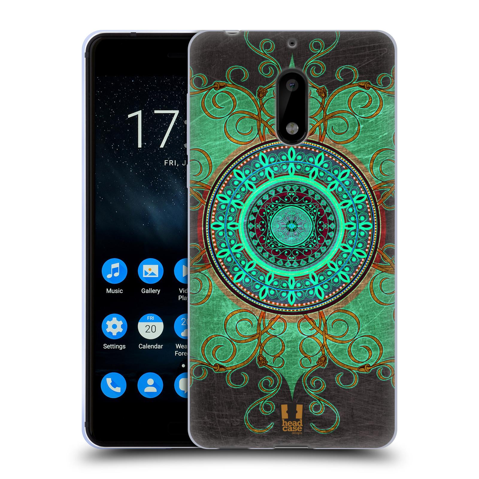 Silikonové pouzdro na mobil Nokia 6 - Head Case - ARAB MANDALA