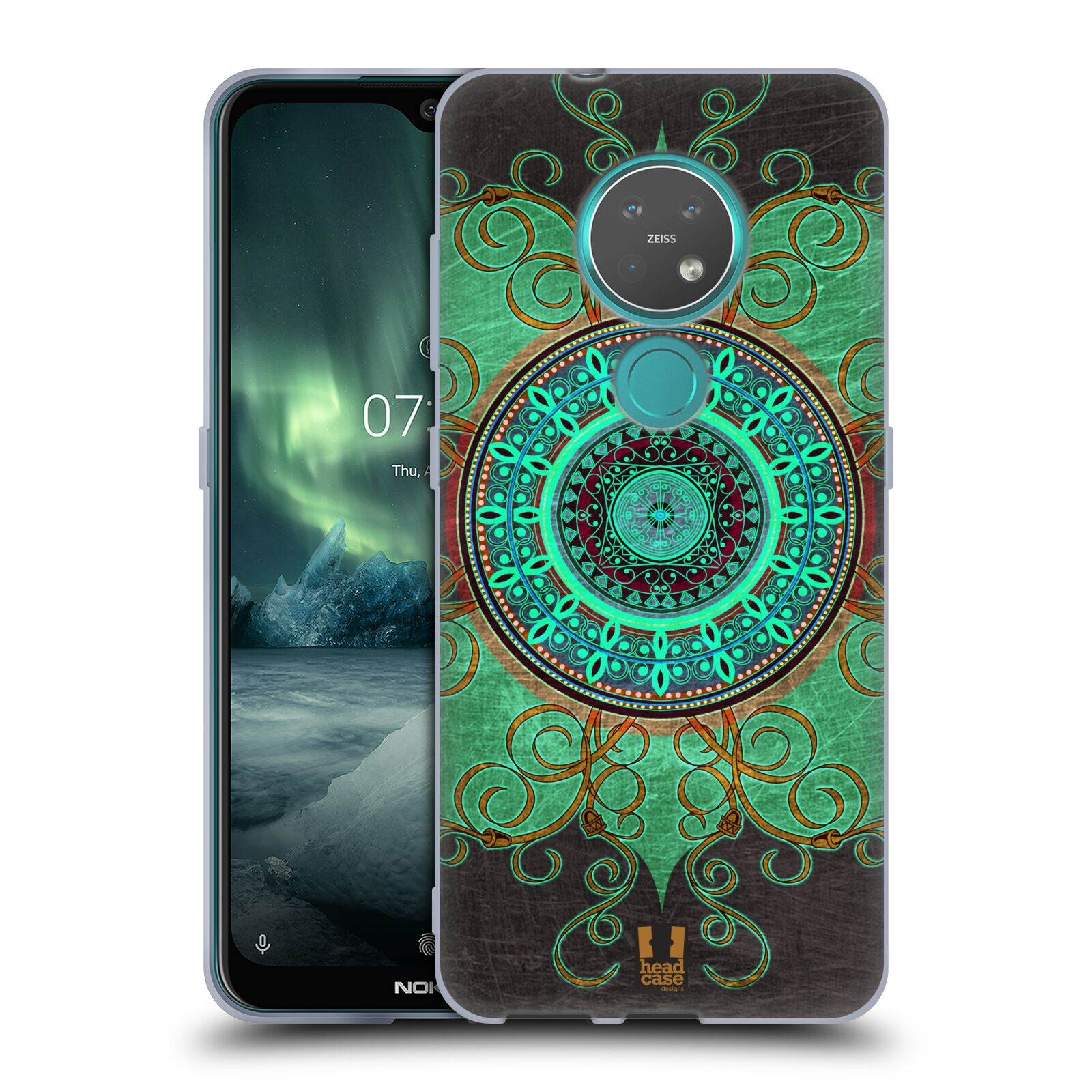 Silikonové pouzdro na mobil Nokia 7.2 - Head Case - ARAB MANDALA
