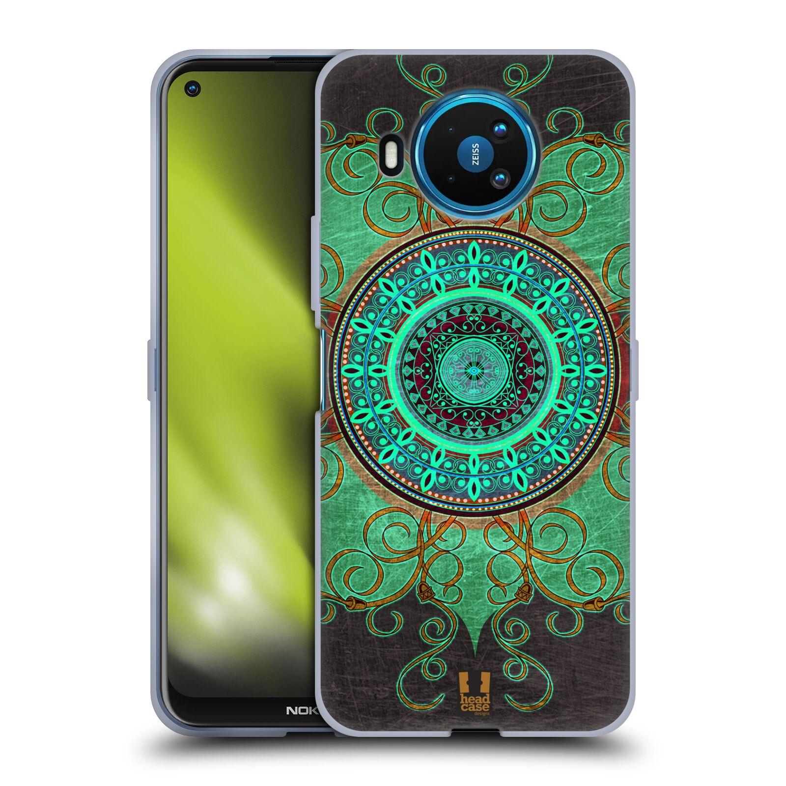 Silikonové pouzdro na mobil Nokia 8.3 5G - Head Case - ARAB MANDALA