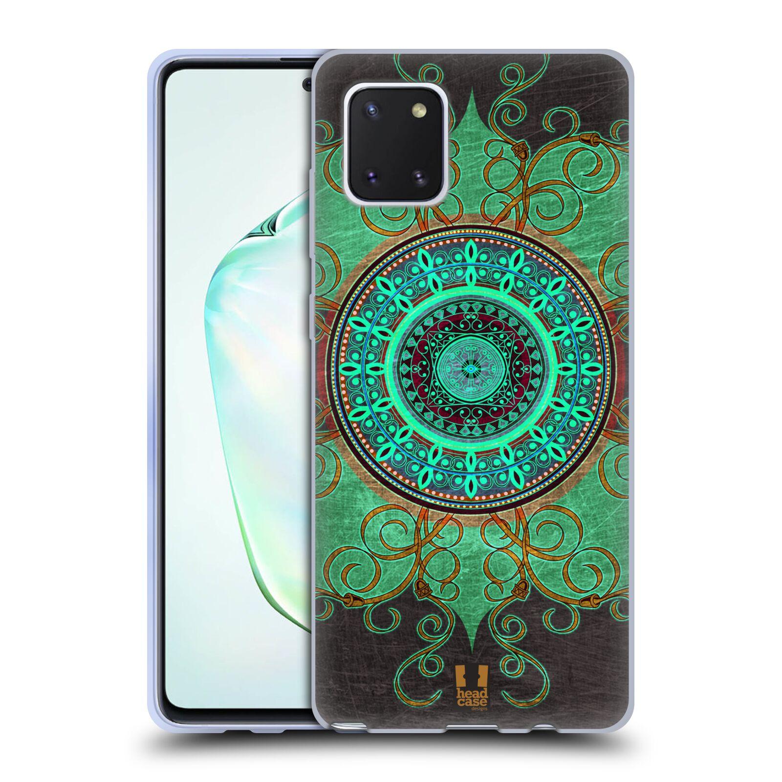 Silikonové pouzdro na mobil Samsung Galaxy Note 10 Lite - Head Case - ARAB MANDALA