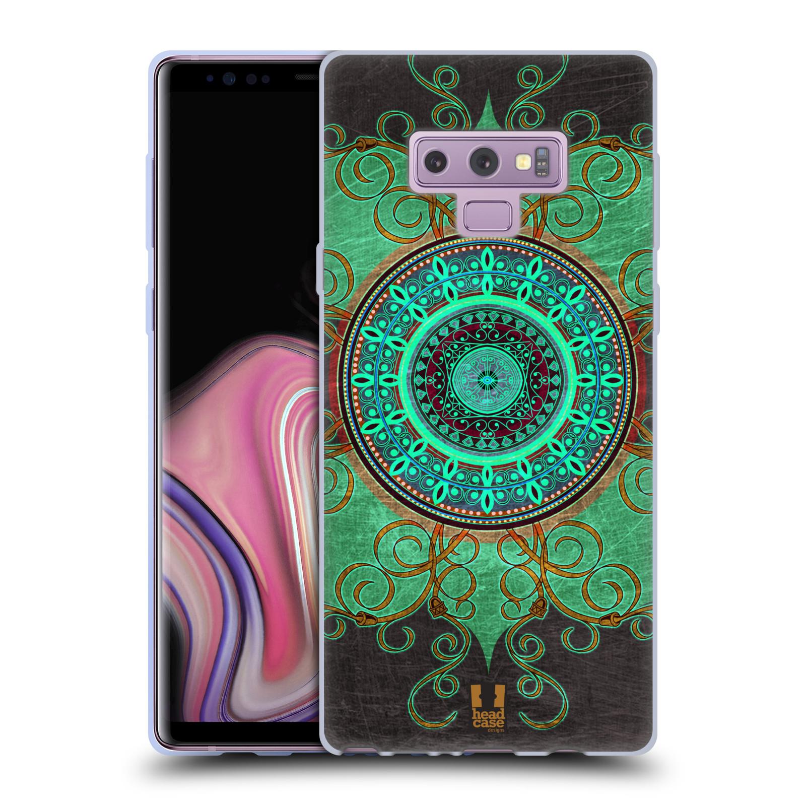 Silikonové pouzdro na mobil Samsung Galaxy Note 9 - Head Case - ARAB MANDALA