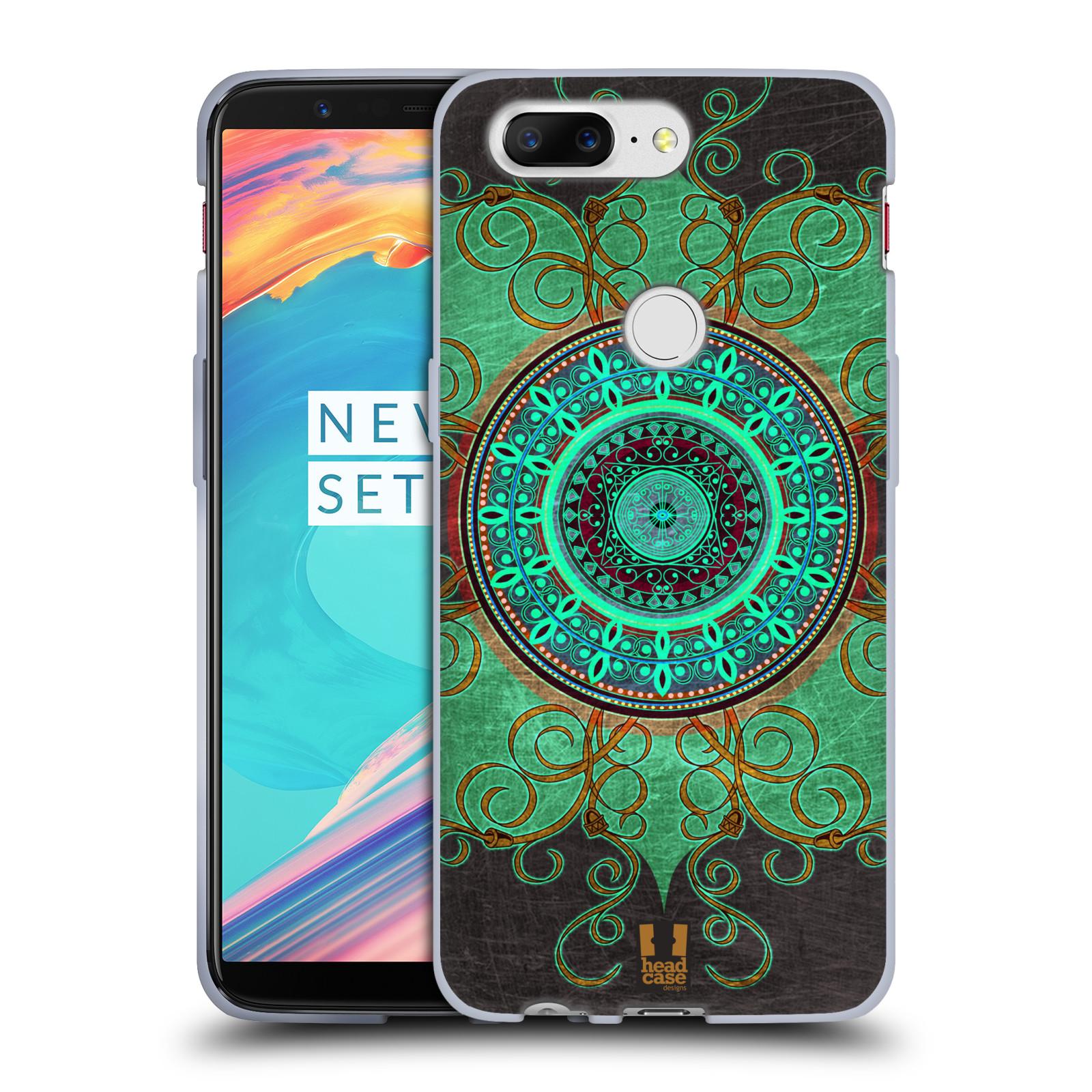 Silikonové pouzdro na mobil OnePlus 5T - Head Case - ARAB MANDALA