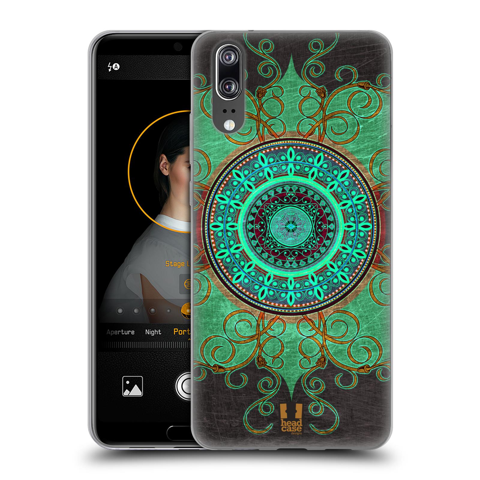 Silikonové pouzdro na mobil Huawei P20 - Head Case - ARAB MANDALA