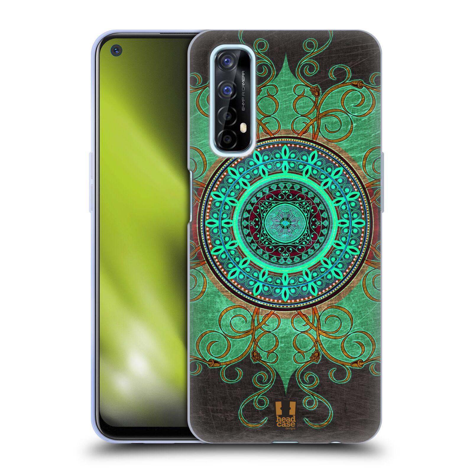 Silikonové pouzdro na mobil Realme 7 - Head Case - ARAB MANDALA