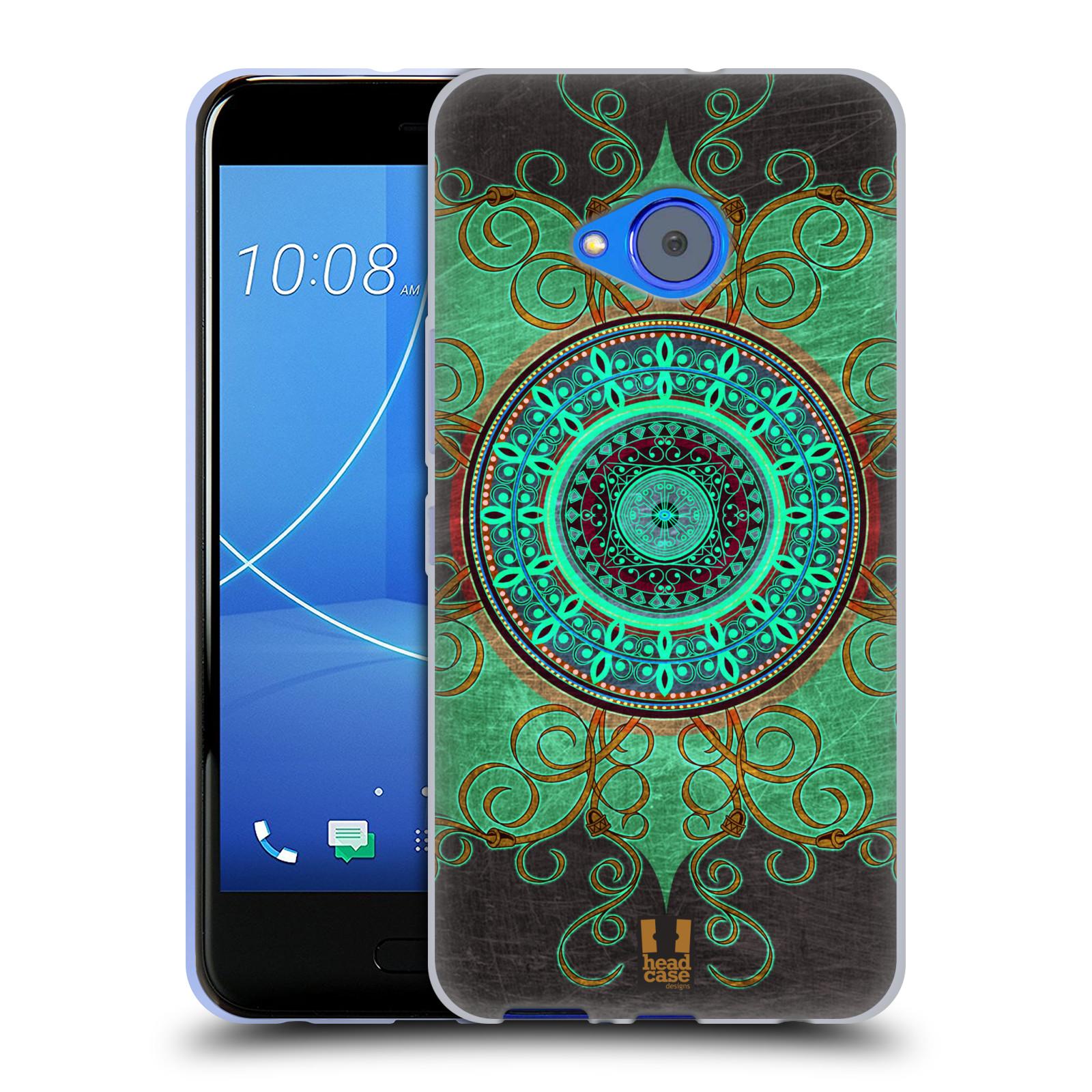 Silikonové pouzdro na mobil HTC U11 Life - Head Case - ARAB MANDALA