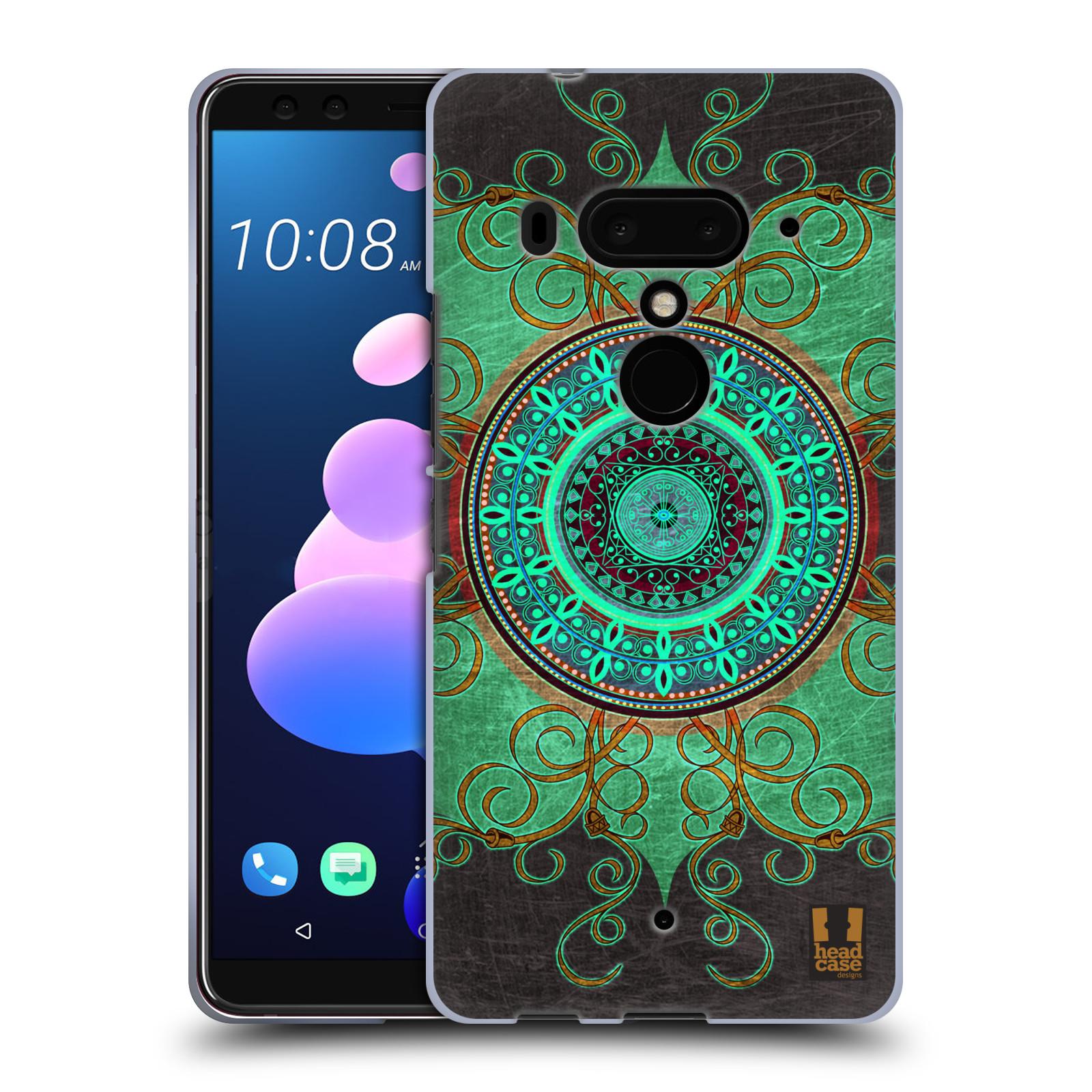 Silikonové pouzdro na mobil HTC U12 Plus - Head Case - ARAB MANDALA