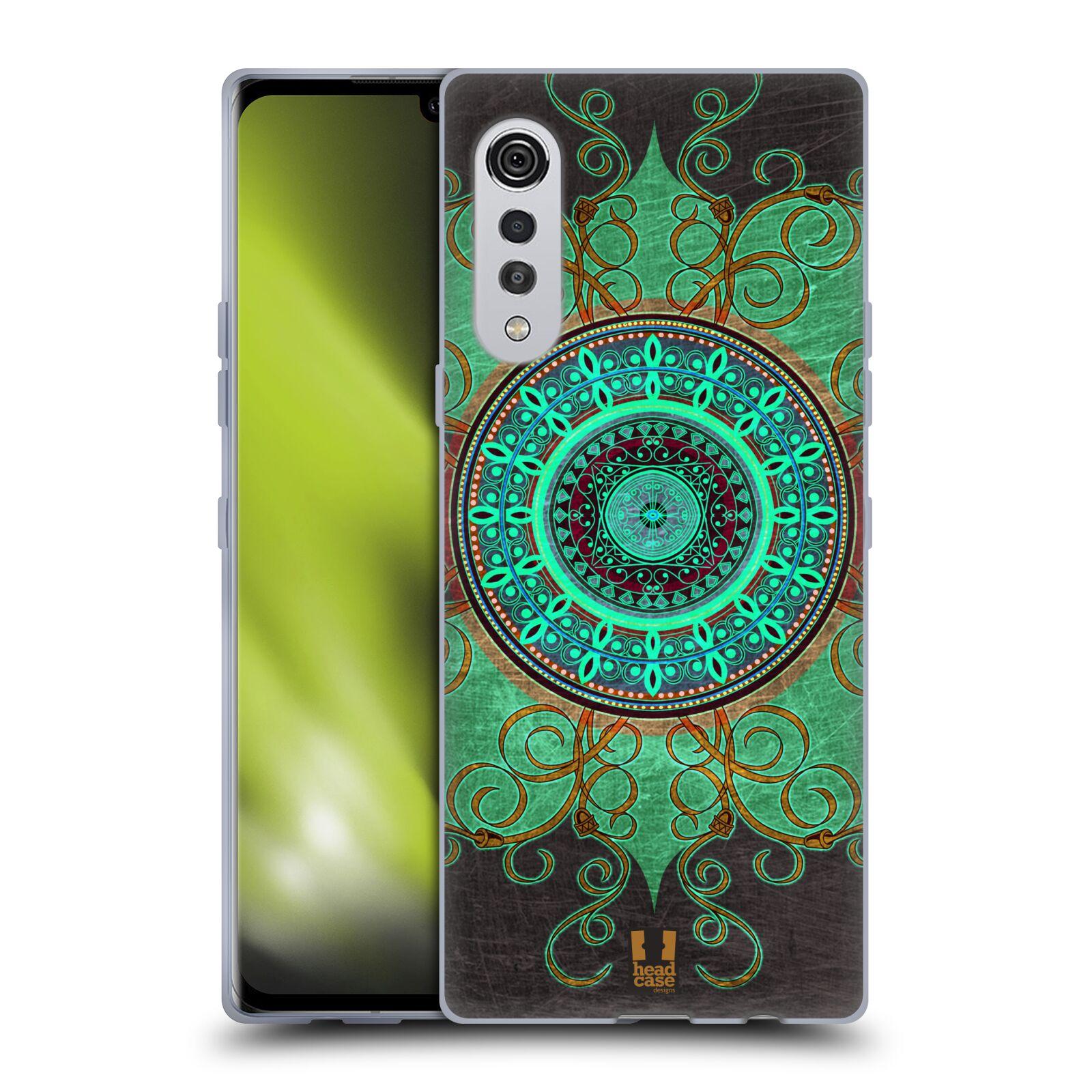 Silikonové pouzdro na mobil LG Velvet - Head Case - ARAB MANDALA