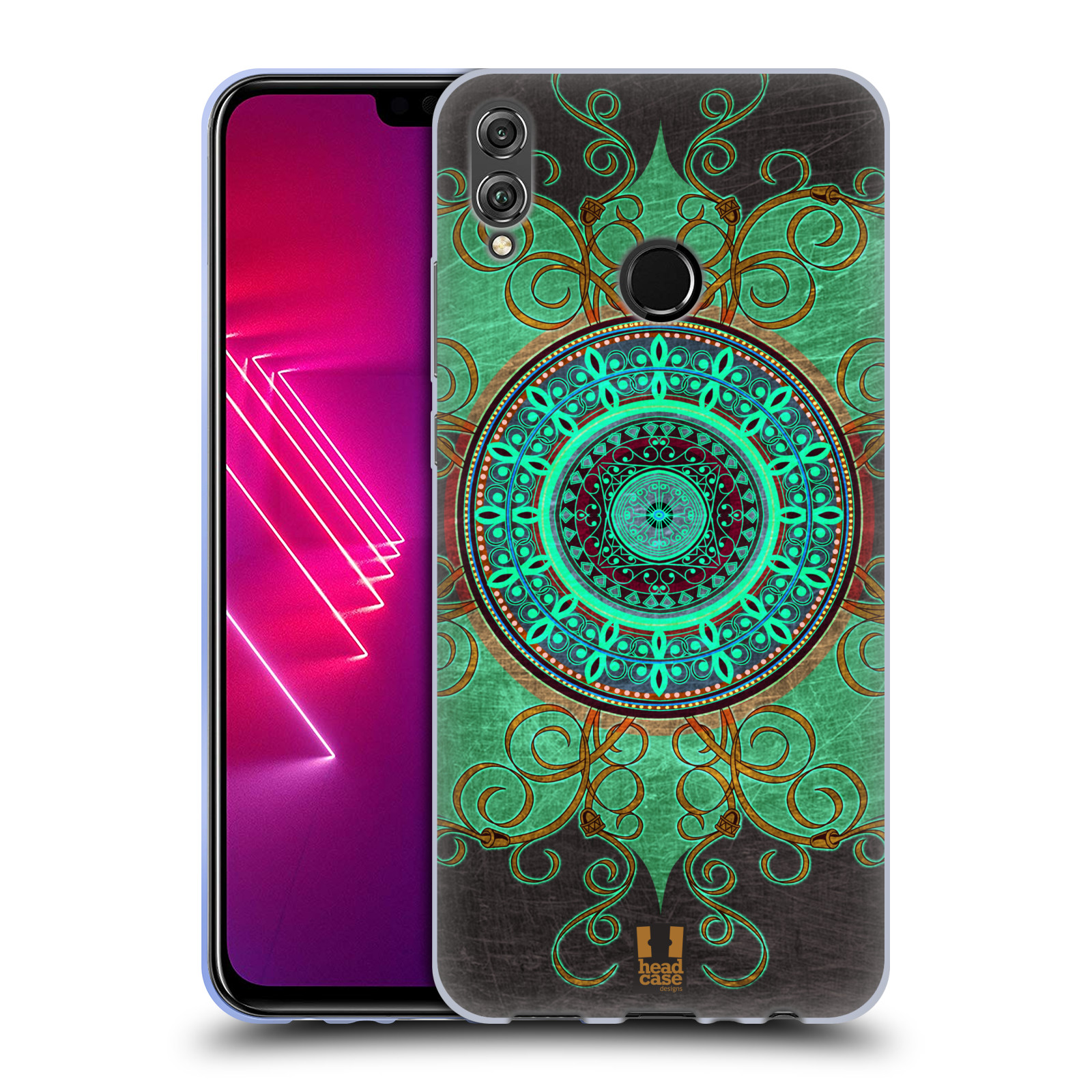 Silikonové pouzdro na mobil Honor View 10 Lite - Head Case - ARAB MANDALA