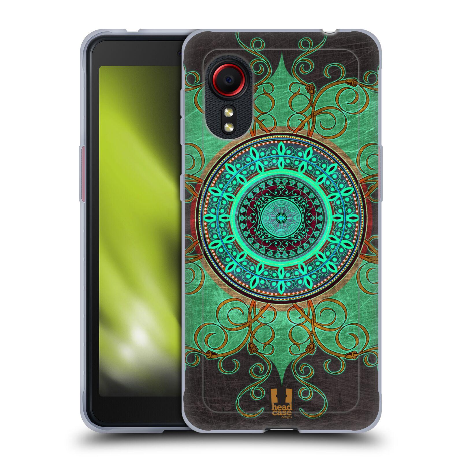 Silikonové pouzdro na mobil Samsung Galaxy Xcover 5 - Head Case - ARAB MANDALA