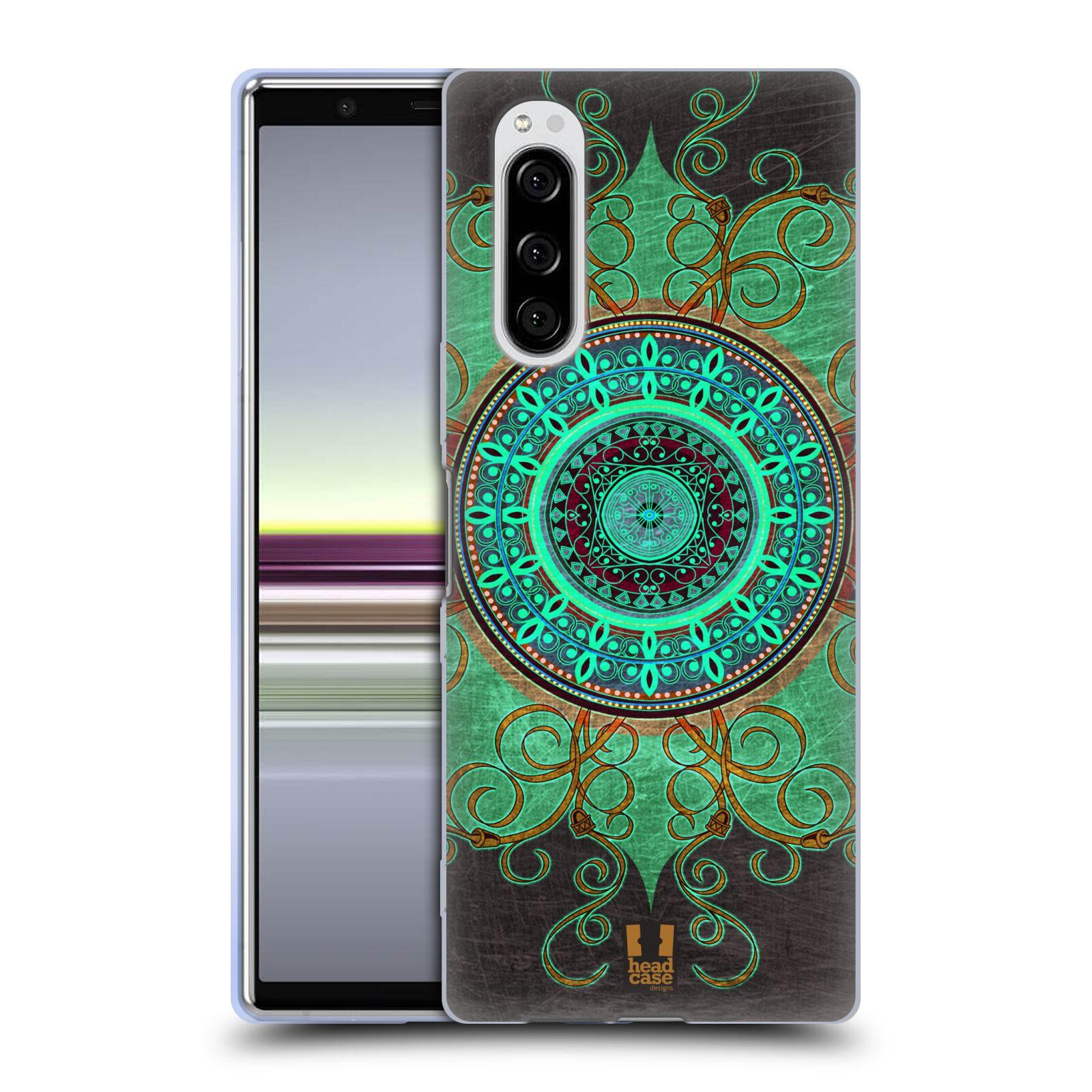Silikonové pouzdro na mobil Sony Xperia 5 - Head Case - ARAB MANDALA