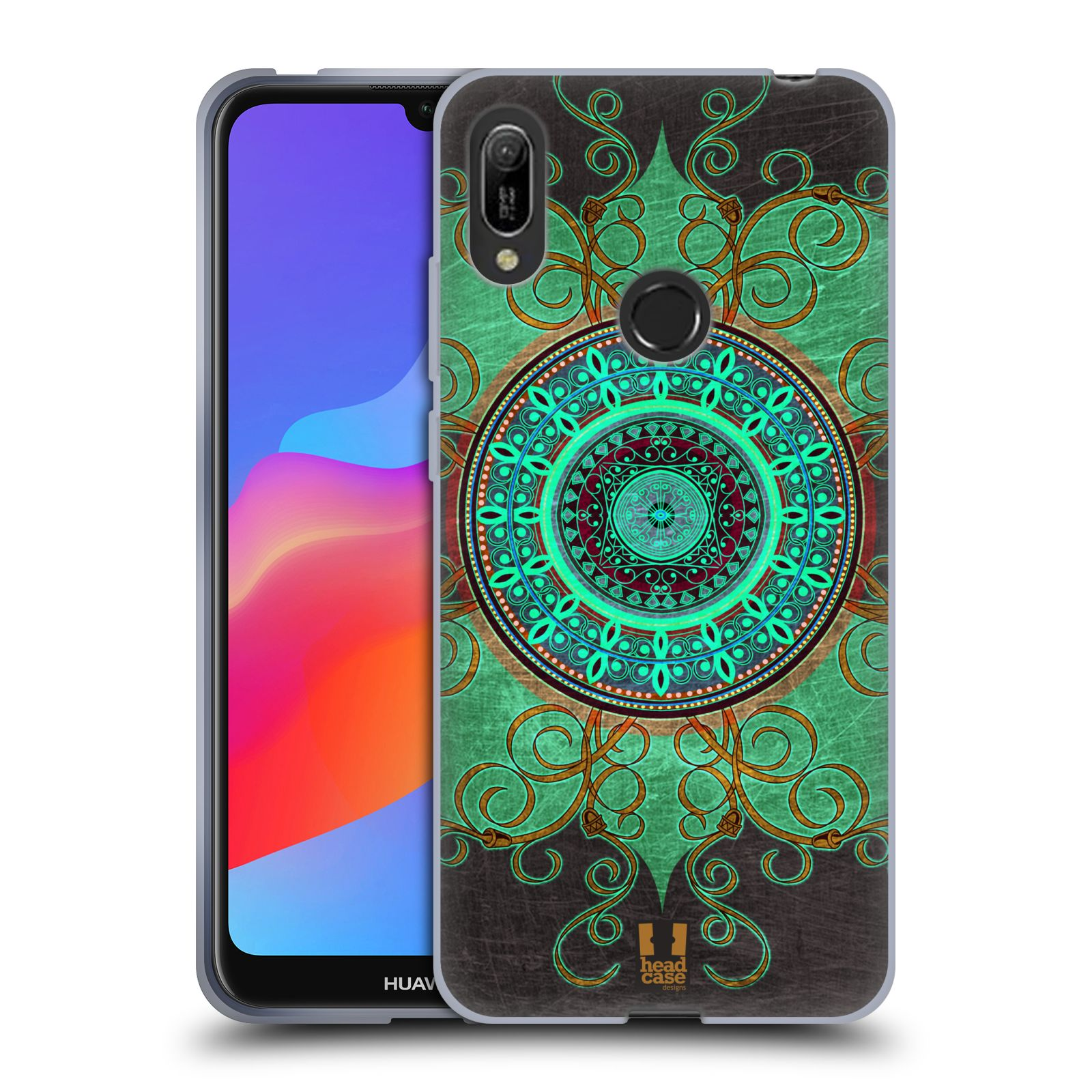 Silikonové pouzdro na mobil Huawei Y6 (2019) - Head Case - ARAB MANDALA