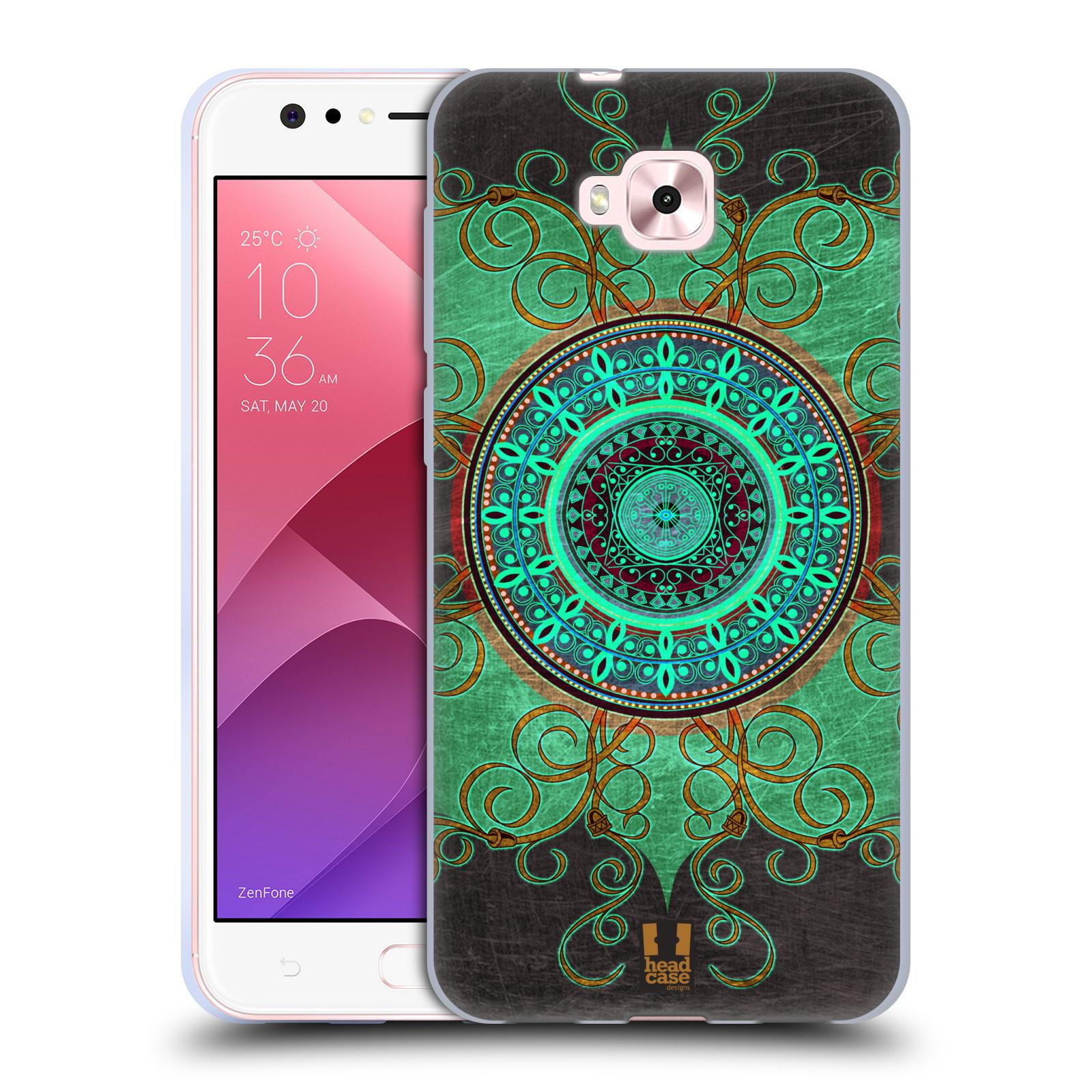 Silikonové pouzdro na mobil Asus Zenfone 4 Selfie ZD553KL - Head Case - ARAB MANDALA
