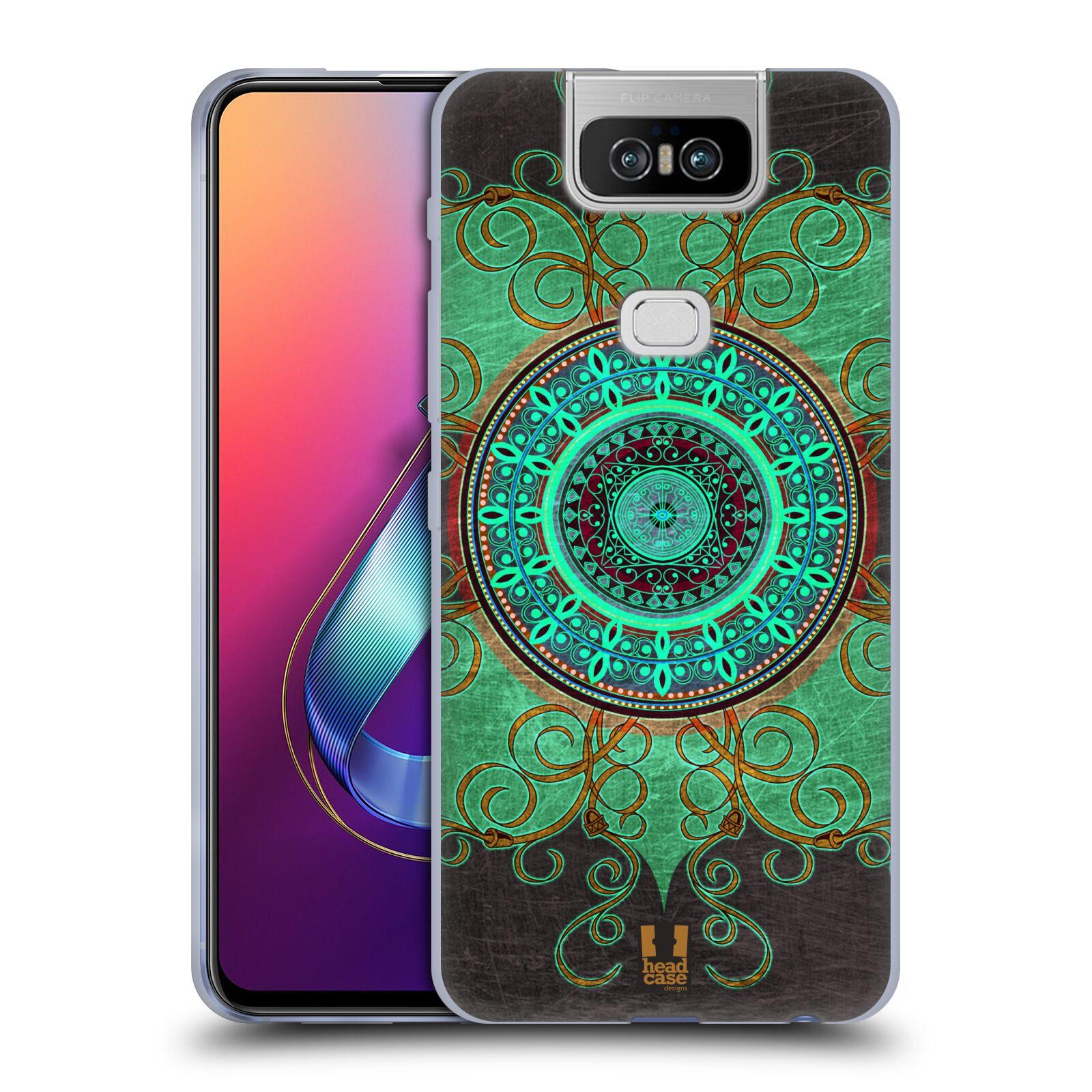 Silikonové pouzdro na mobil Asus Zenfone 6 ZS630KL - Head Case - ARAB MANDALA