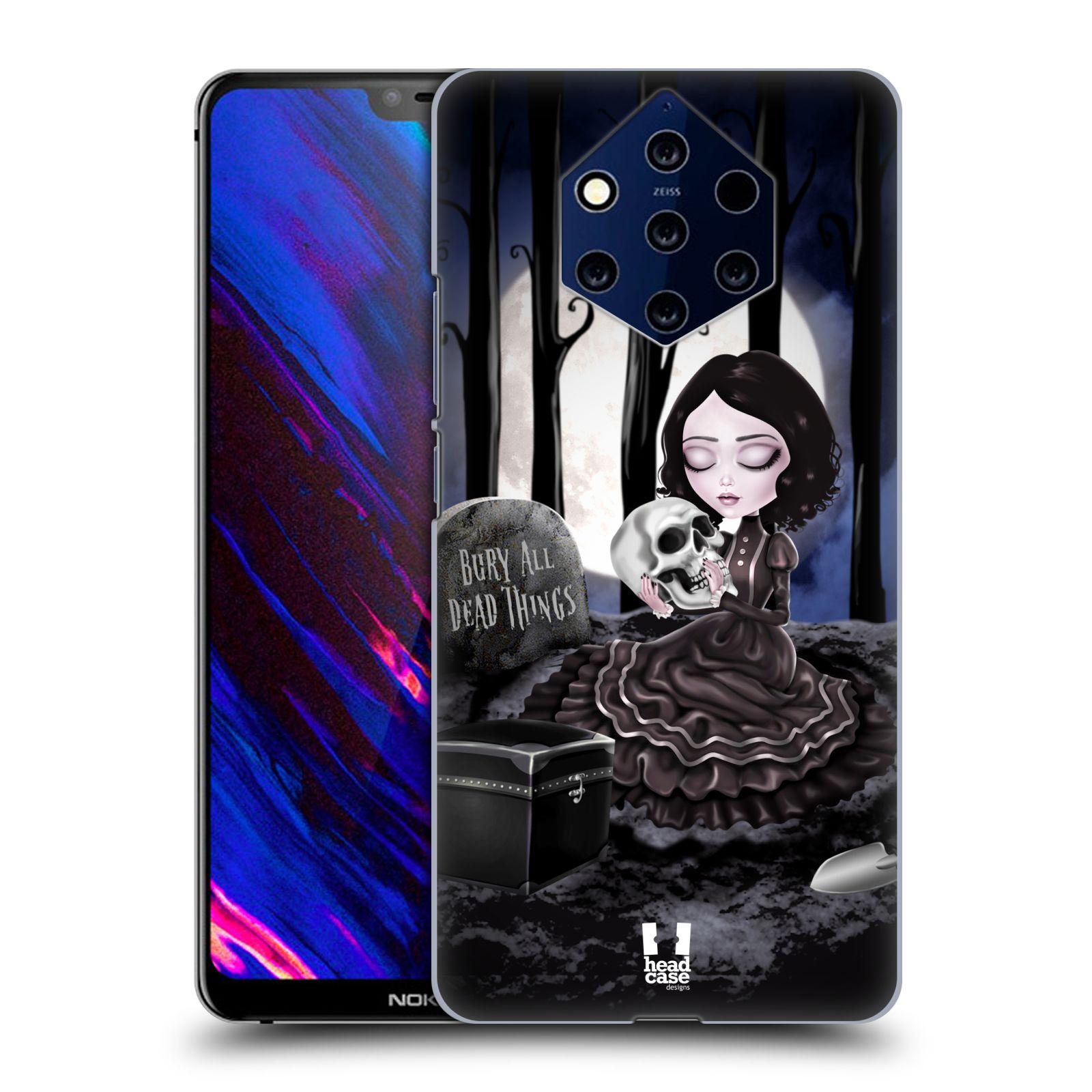 Plastové pouzdro na mobil Nokia 9 PureView - Head Case - MACABRE HŘBITOV