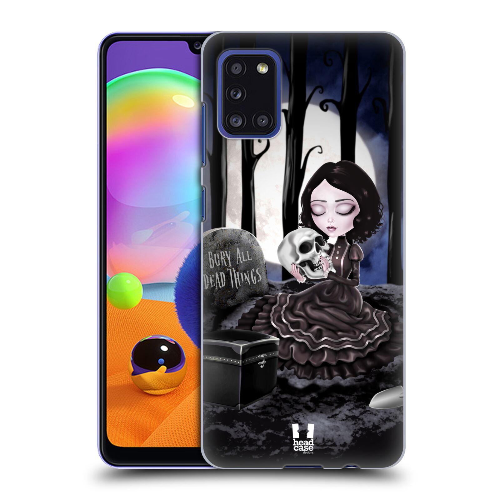 Plastové pouzdro na mobil Samsung Galaxy A31 - Head Case - MACABRE HŘBITOV
