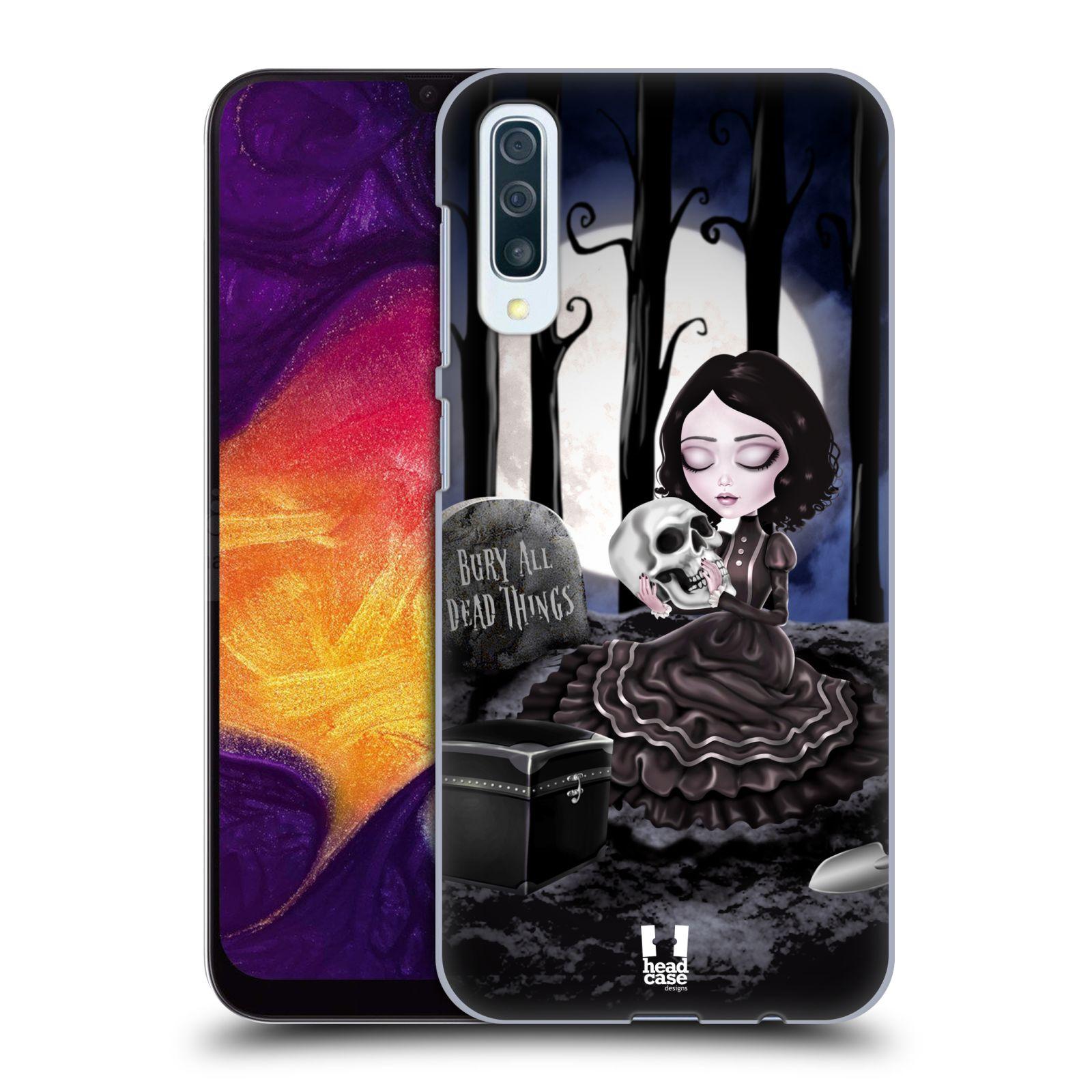 Plastové pouzdro na mobil Samsung Galaxy A50 - Head Case - MACABRE HŘBITOV