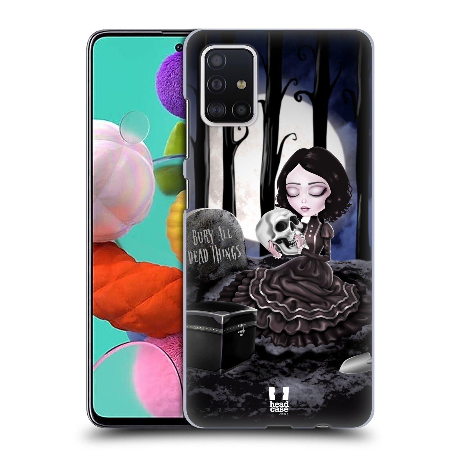Plastové pouzdro na mobil Samsung Galaxy A51 - Head Case - MACABRE HŘBITOV