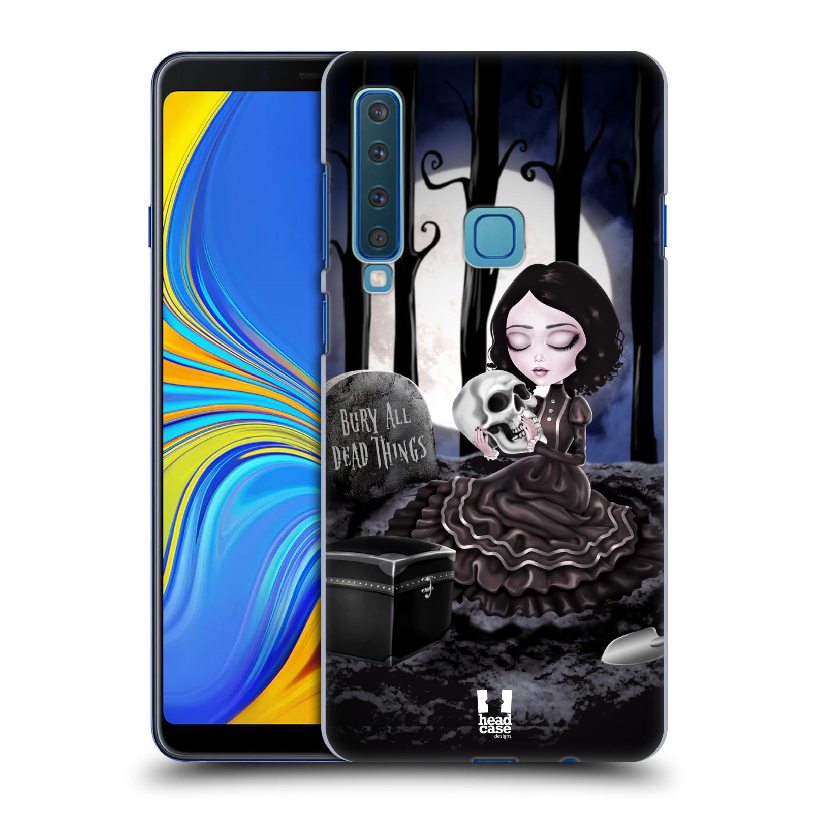 Plastové pouzdro na mobil Samsung Galaxy A9 (2018) - Head Case - MACABRE HŘBITOV