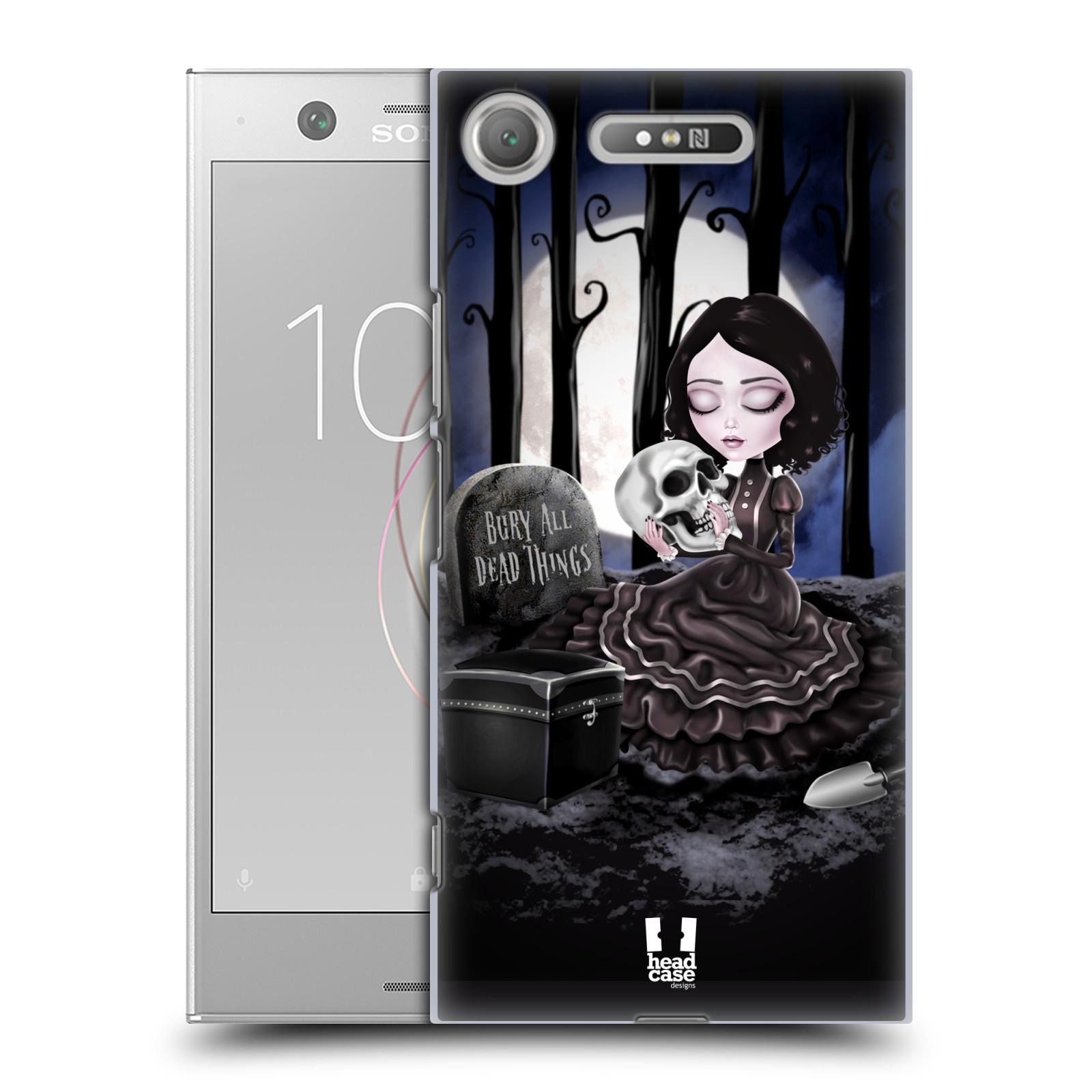 Plastové pouzdro na mobil Sony Xperia XZ1 - Head Case - MACABRE HŘBITOV