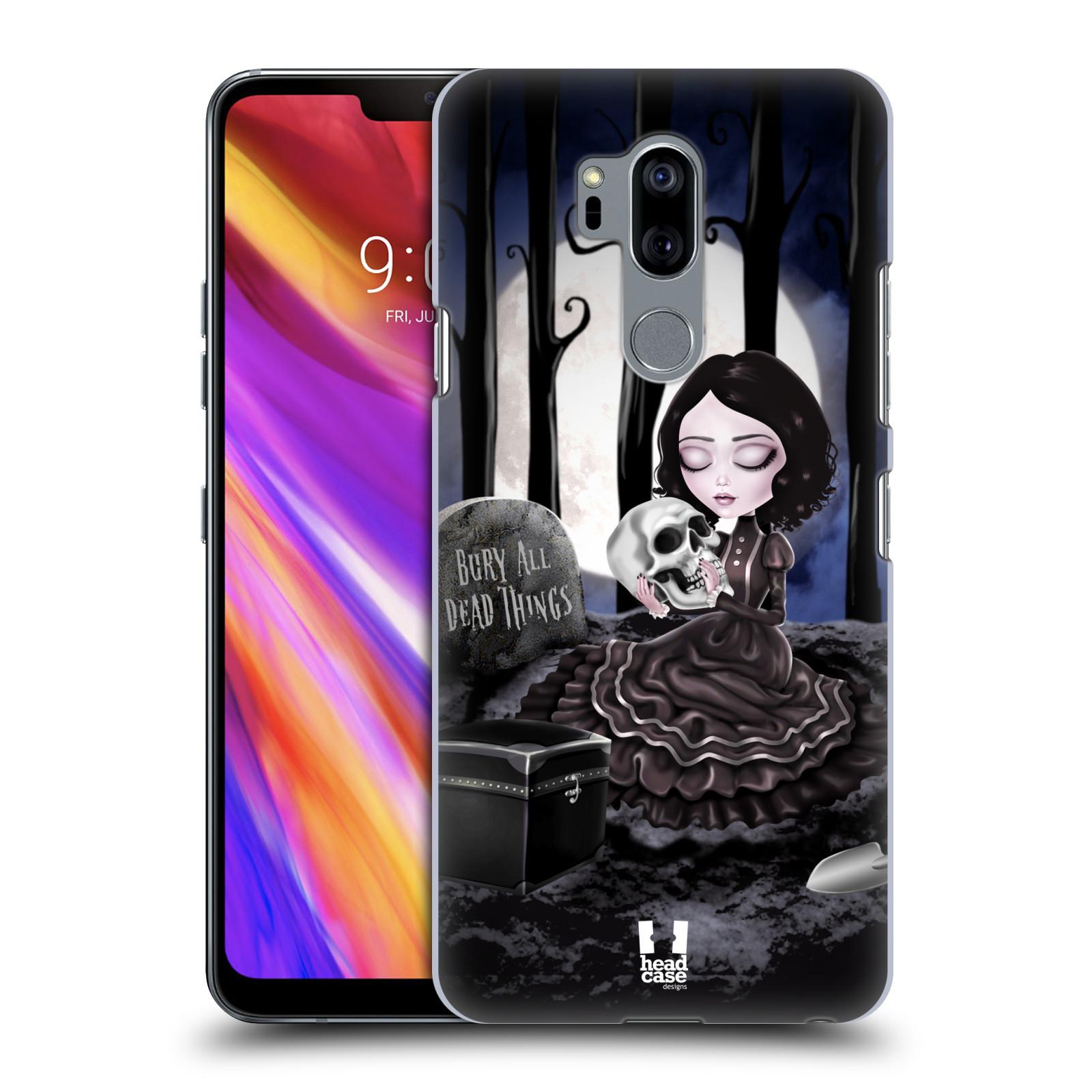 Plastové pouzdro na mobil LG G7 ThinQ - Head Case - MACABRE HŘBITOV