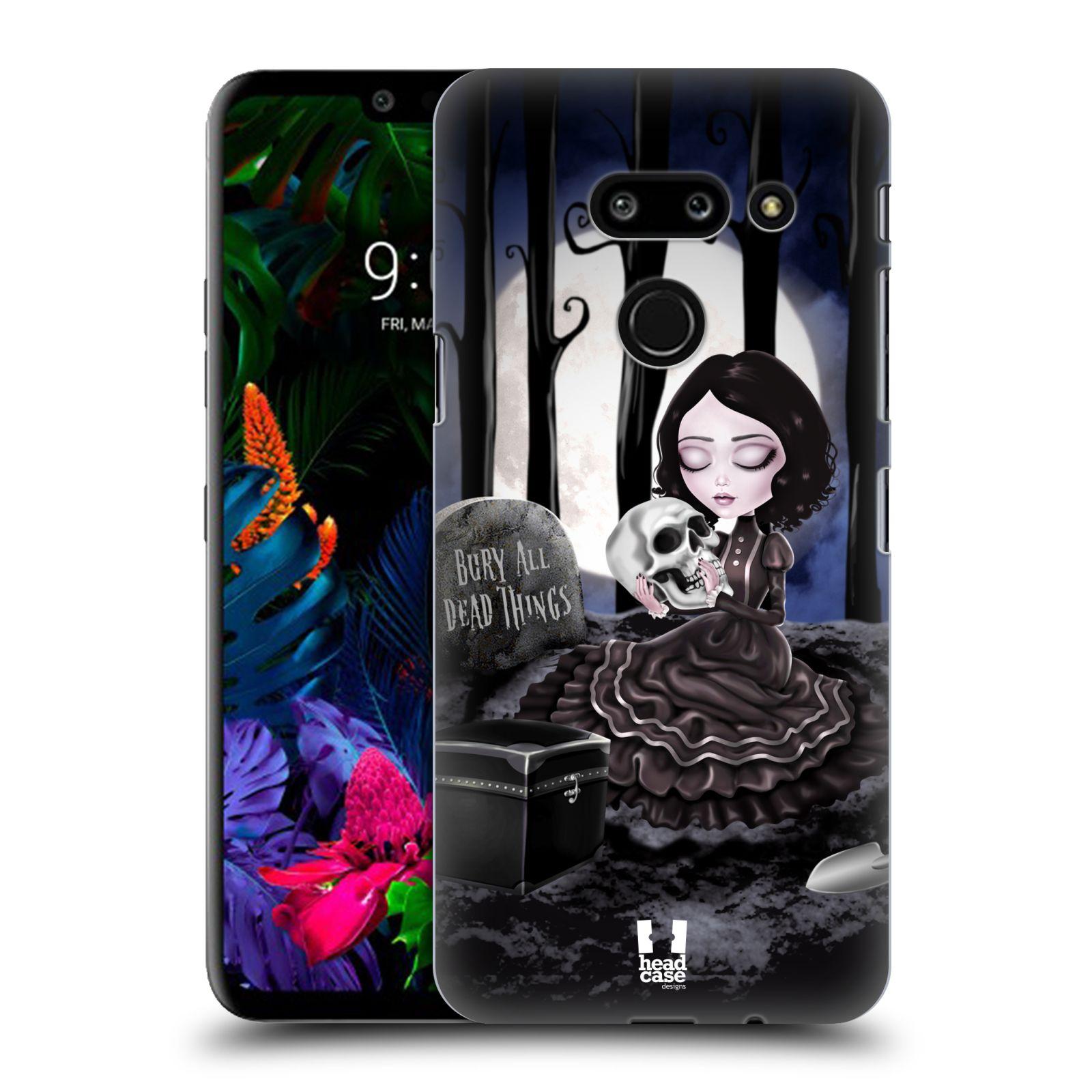 Plastové pouzdro na mobil LG G8 ThinQ - Head Case - MACABRE HŘBITOV