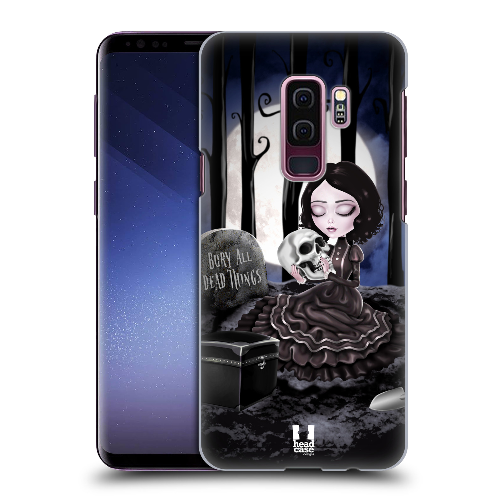 Plastové pouzdro na mobil Samsung Galaxy S9 Plus - Head Case - MACABRE HŘBITOV