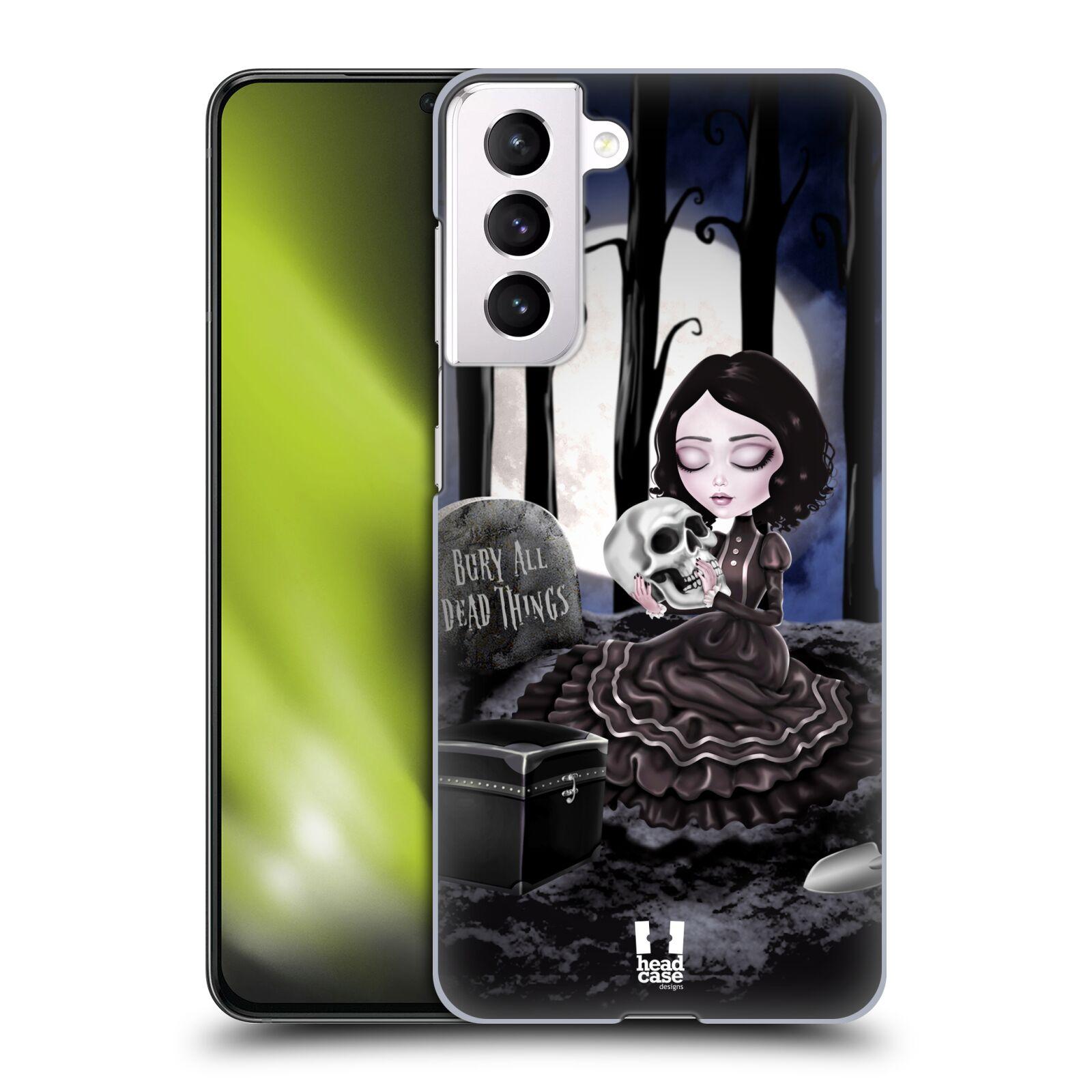 Plastové pouzdro na mobil Samsung Galaxy S21 5G - Head Case - MACABRE HŘBITOV