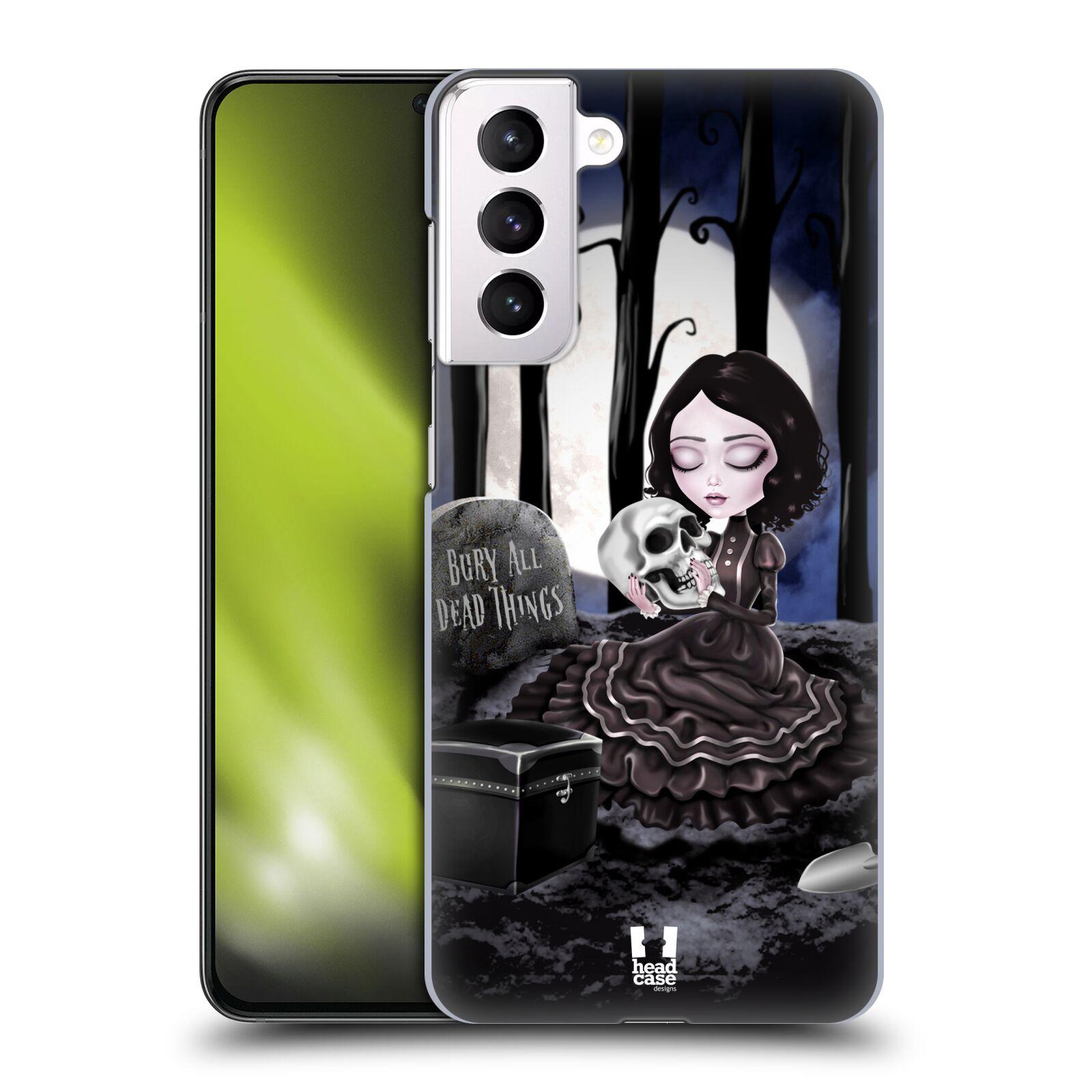 Plastové pouzdro na mobil Samsung Galaxy S21 Plus 5G - Head Case - MACABRE HŘBITOV