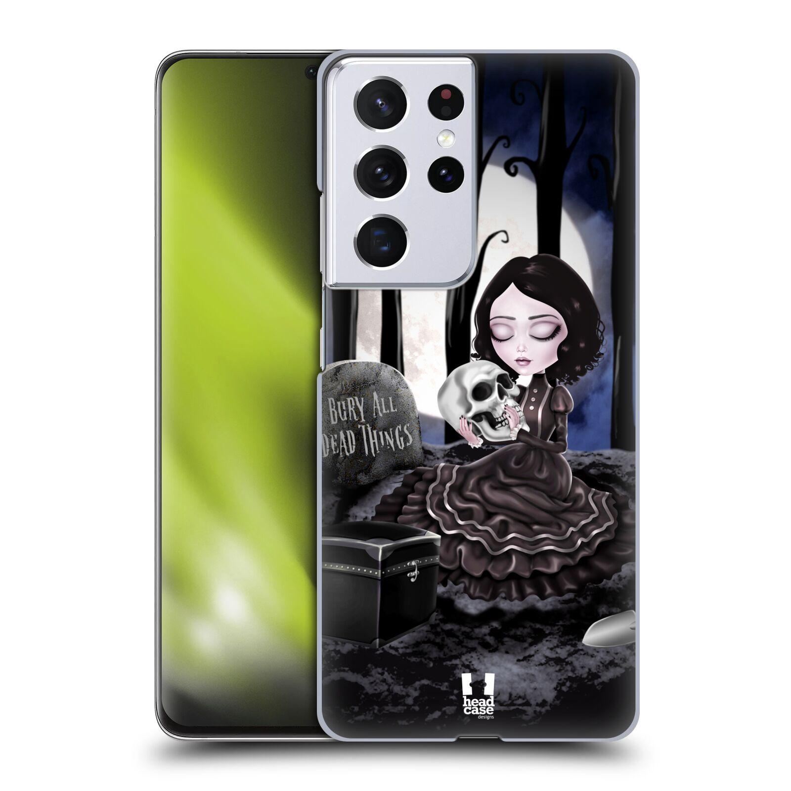 Plastové pouzdro na mobil Samsung Galaxy S21 Ultra 5G - Head Case - MACABRE HŘBITOV