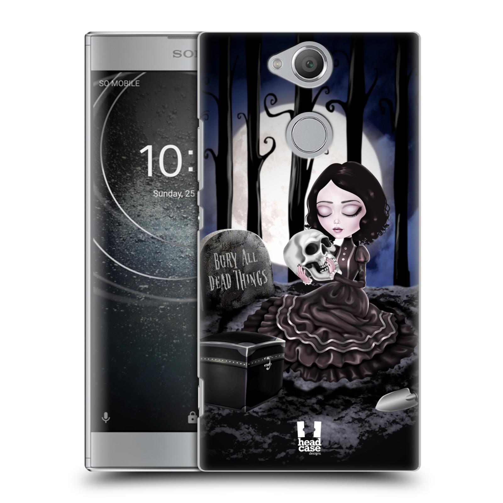 Plastové pouzdro na mobil Sony Xperia XA2 - Head Case - MACABRE HŘBITOV
