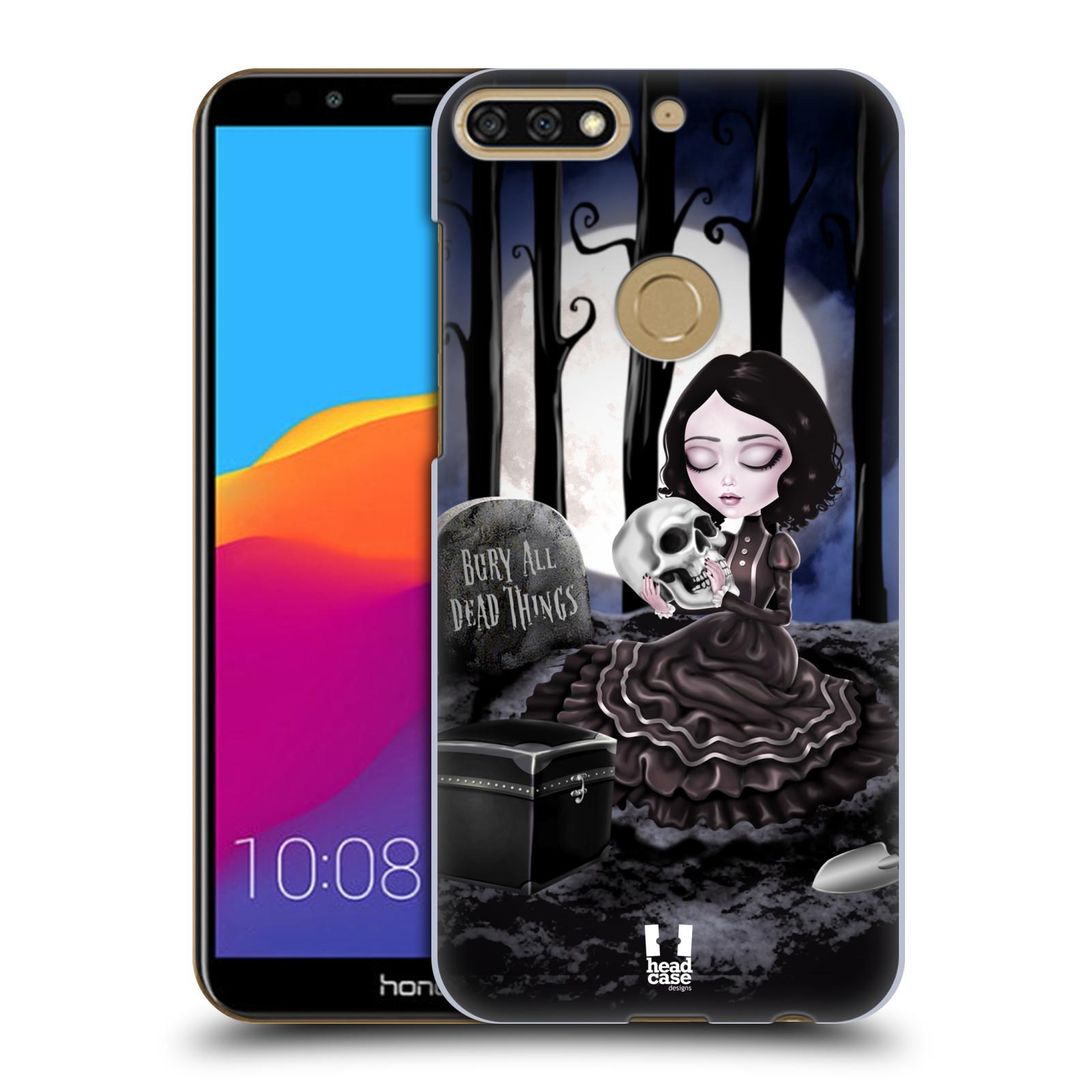 Plastové pouzdro na mobil Huawei Y7 Prime 2018 - Head Case - MACABRE HŘBITOV