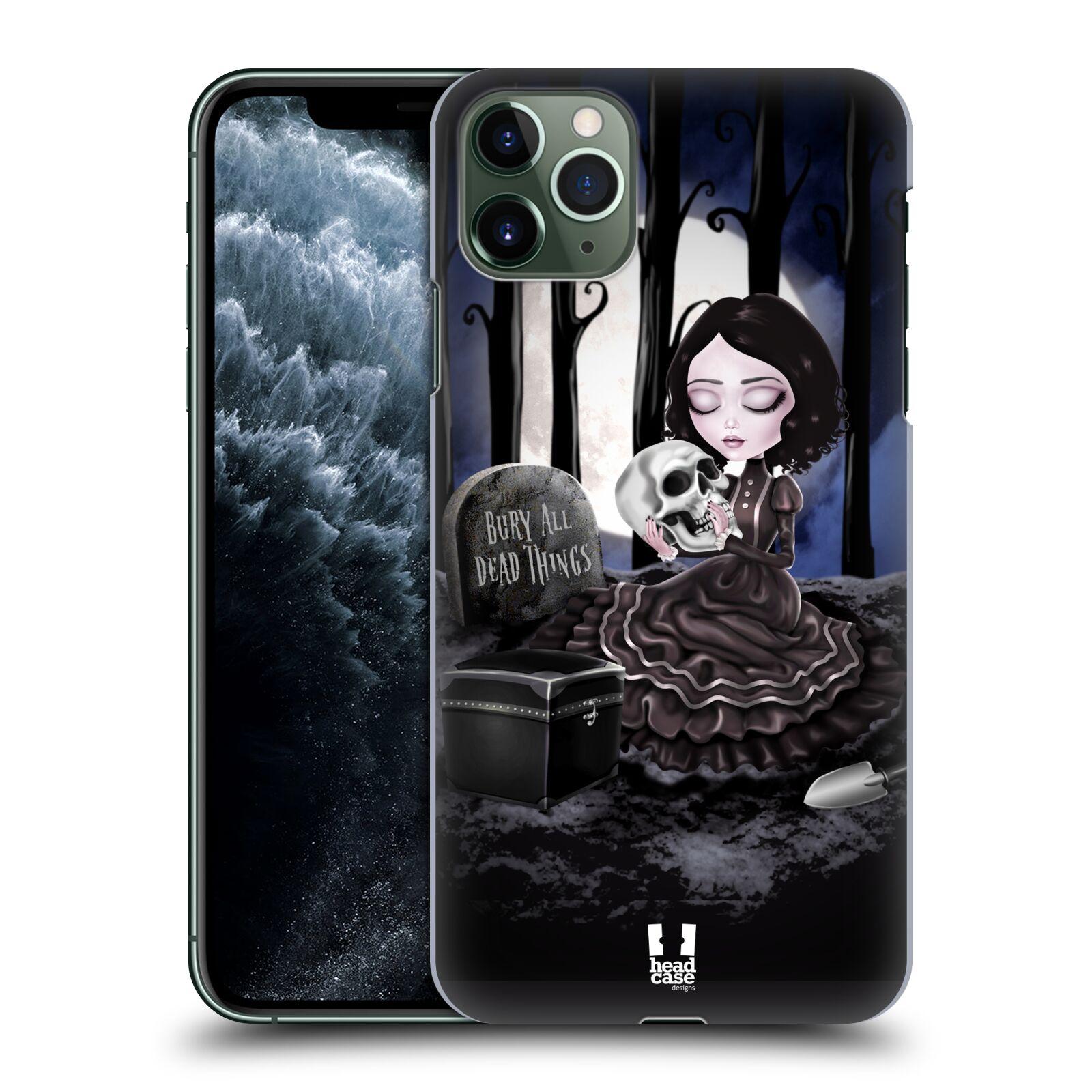 Plastové pouzdro na mobil Apple iPhone 11 Pro Max - Head Case - MACABRE HŘBITOV