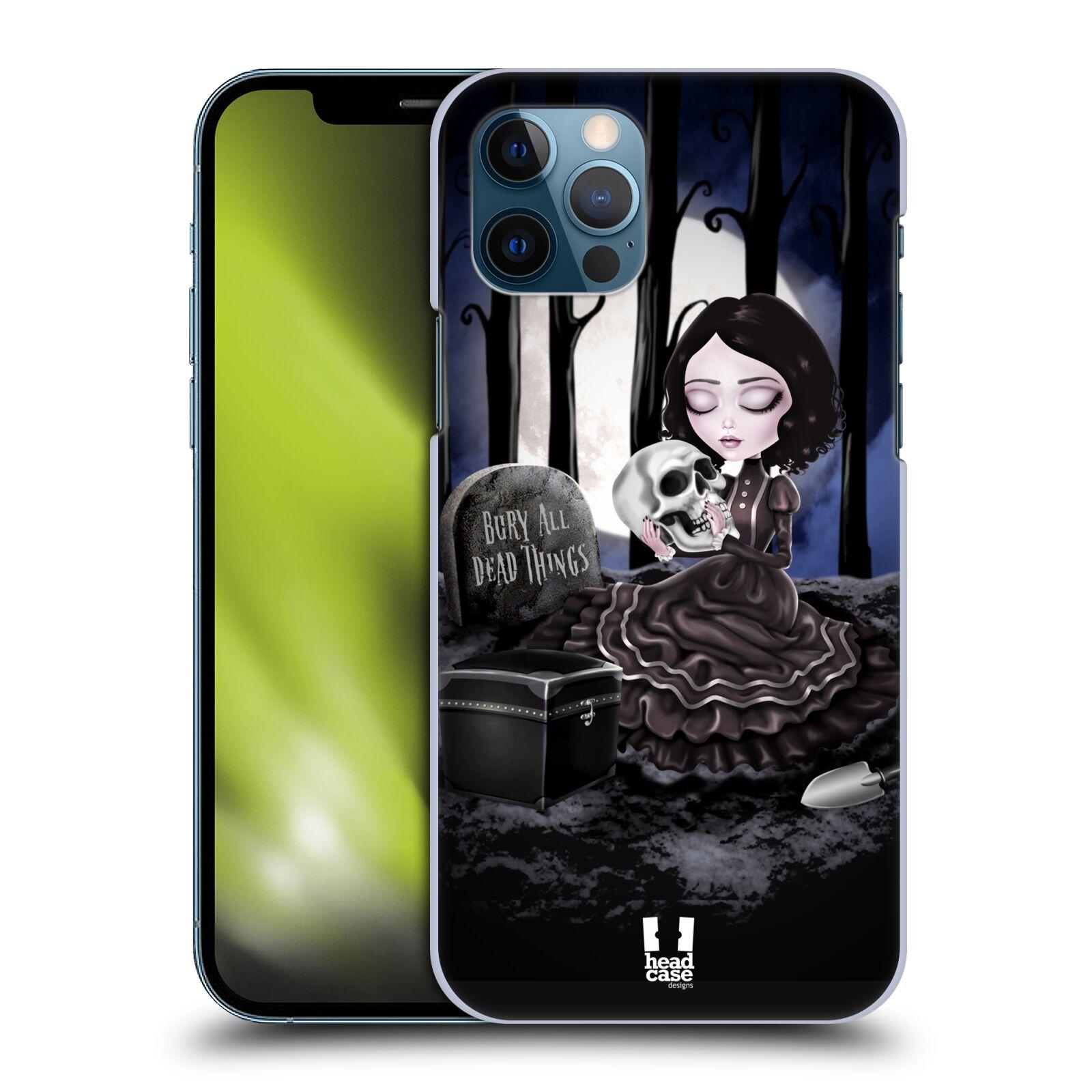 Plastové pouzdro na mobil Apple iPhone 12 / 12 Pro - Head Case - MACABRE HŘBITOV