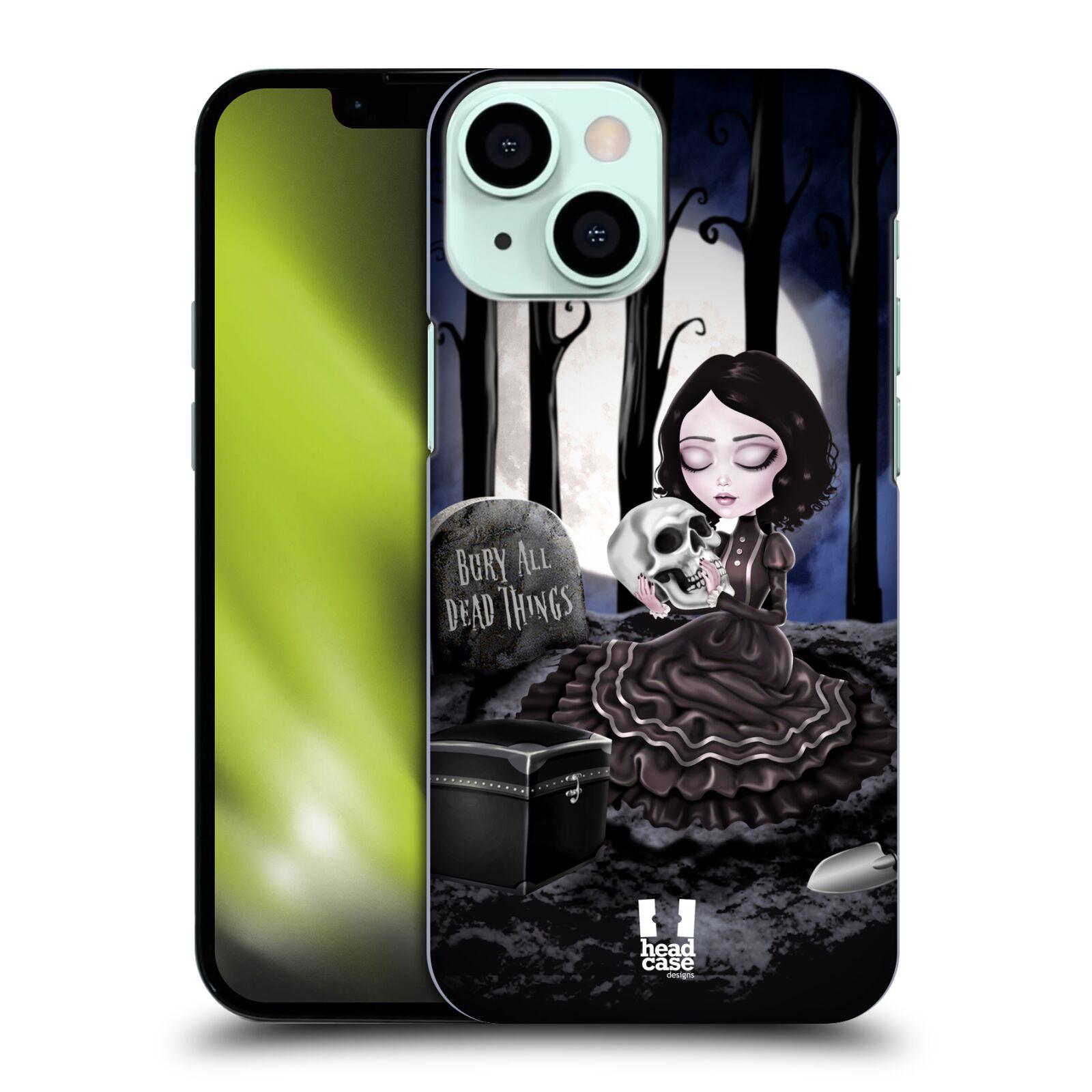 Plastové pouzdro na mobil Apple iPhone 13 Mini - Head Case - MACABRE HŘBITOV