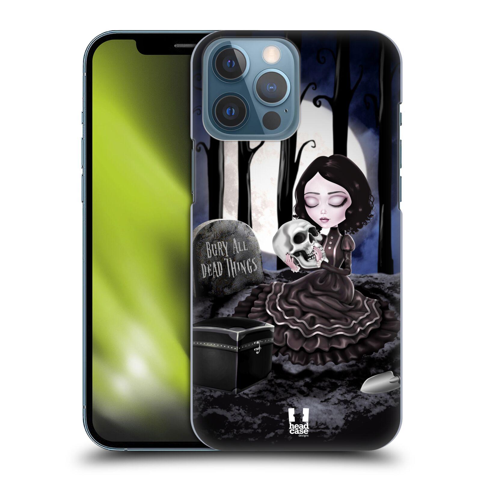 Plastové pouzdro na mobil Apple iPhone 13 Pro Max - Head Case - MACABRE HŘBITOV