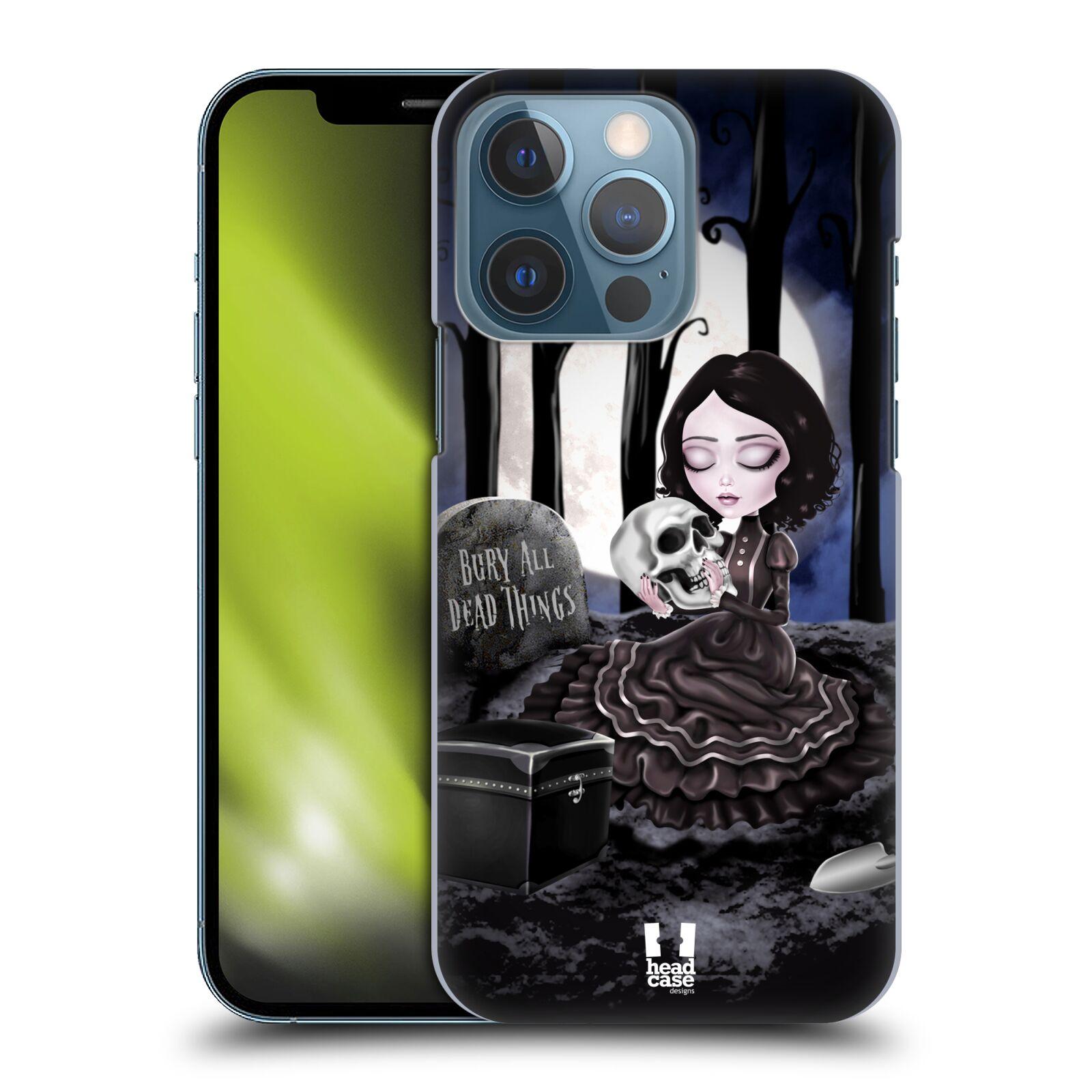 Plastové pouzdro na mobil Apple iPhone 13 Pro - Head Case - MACABRE HŘBITOV