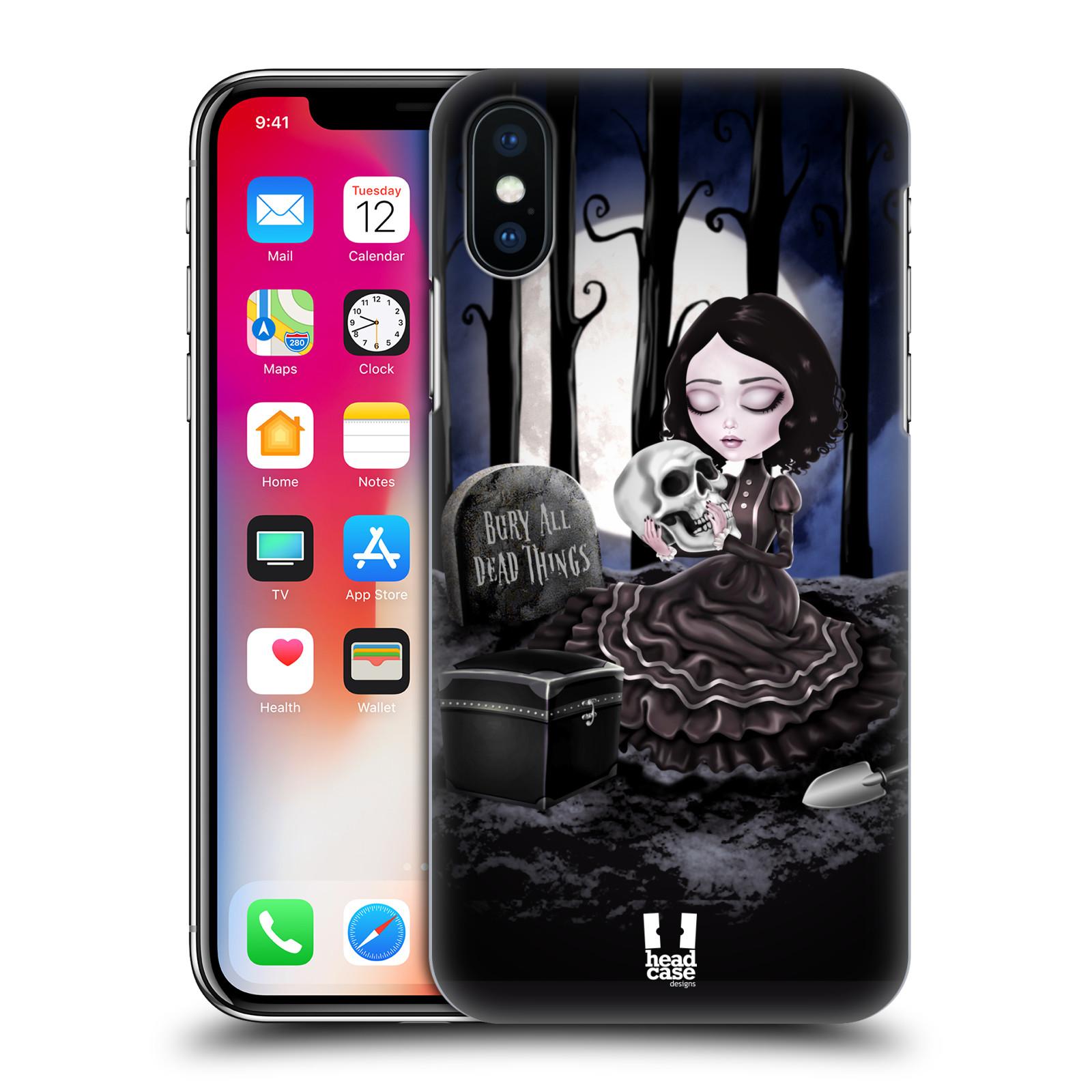 Plastové pouzdro na mobil Apple iPhone X - Head Case - MACABRE HŘBITOV