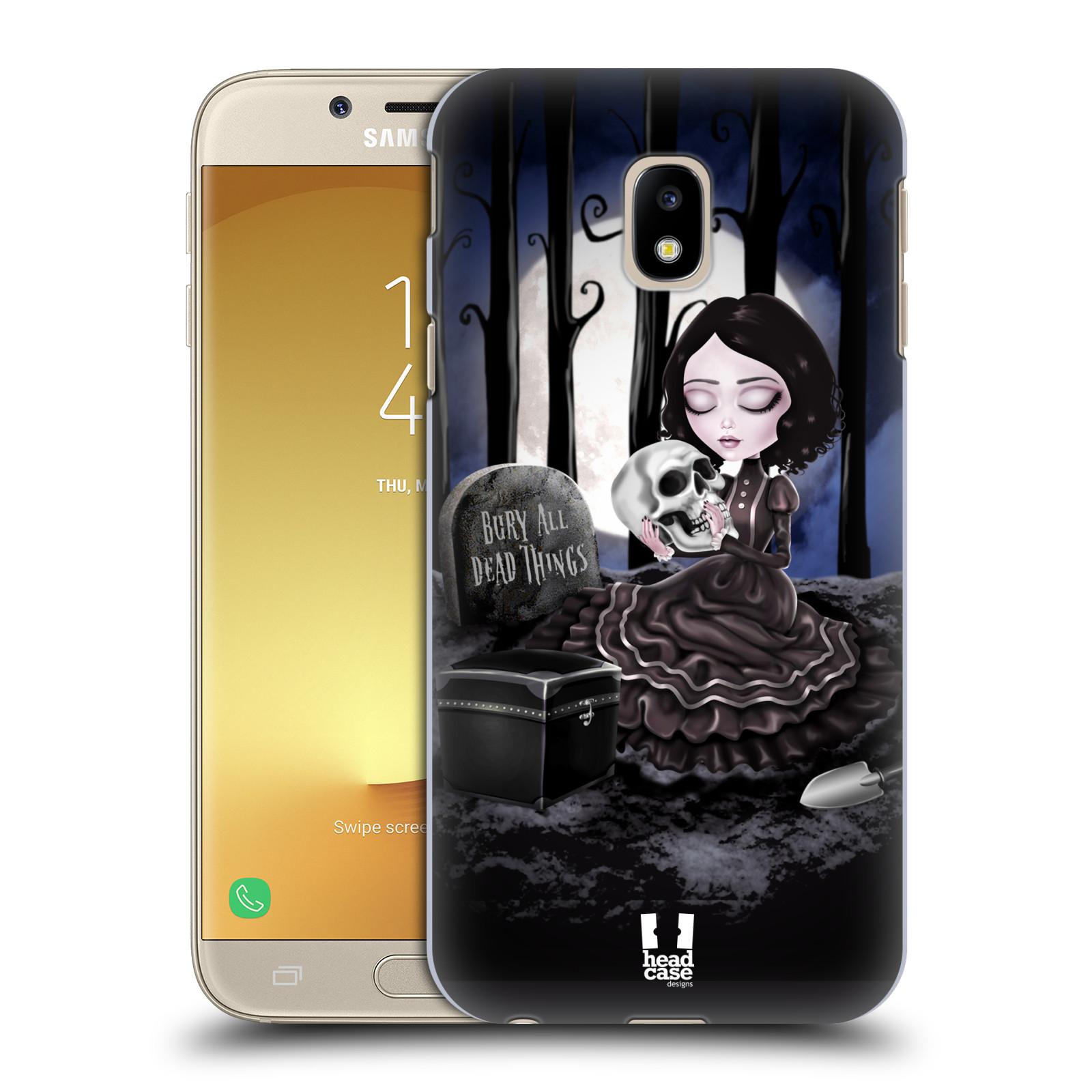 Plastové pouzdro na mobil Samsung Galaxy J3 (2017) - Head Case - MACABRE HŘBITOV
