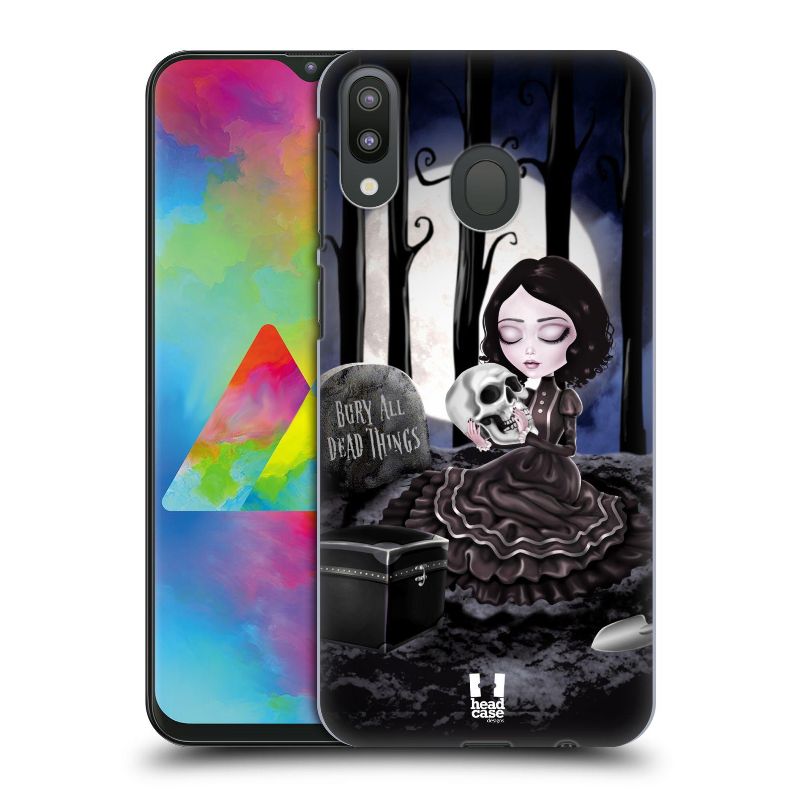 Plastové pouzdro na mobil Samsung Galaxy M20 - Head Case - MACABRE HŘBITOV